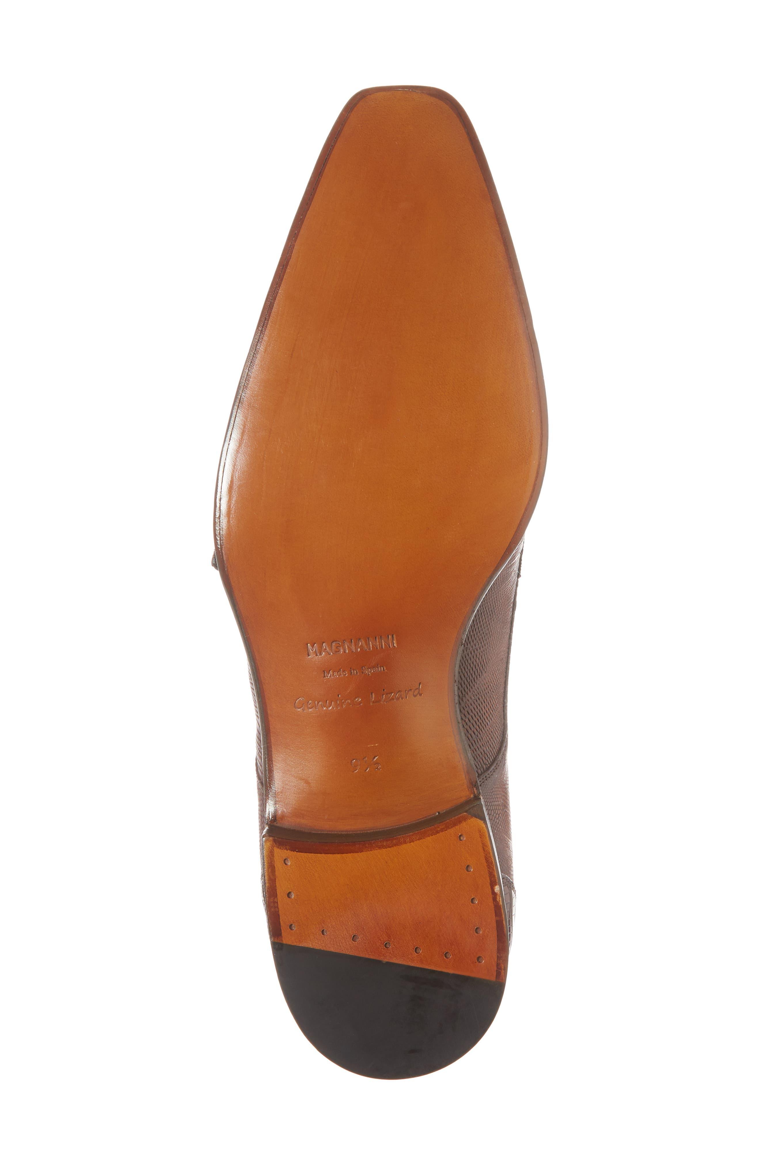 Isaac Cap Toe Monk Shoe,                             Alternate thumbnail 6, color,                             219