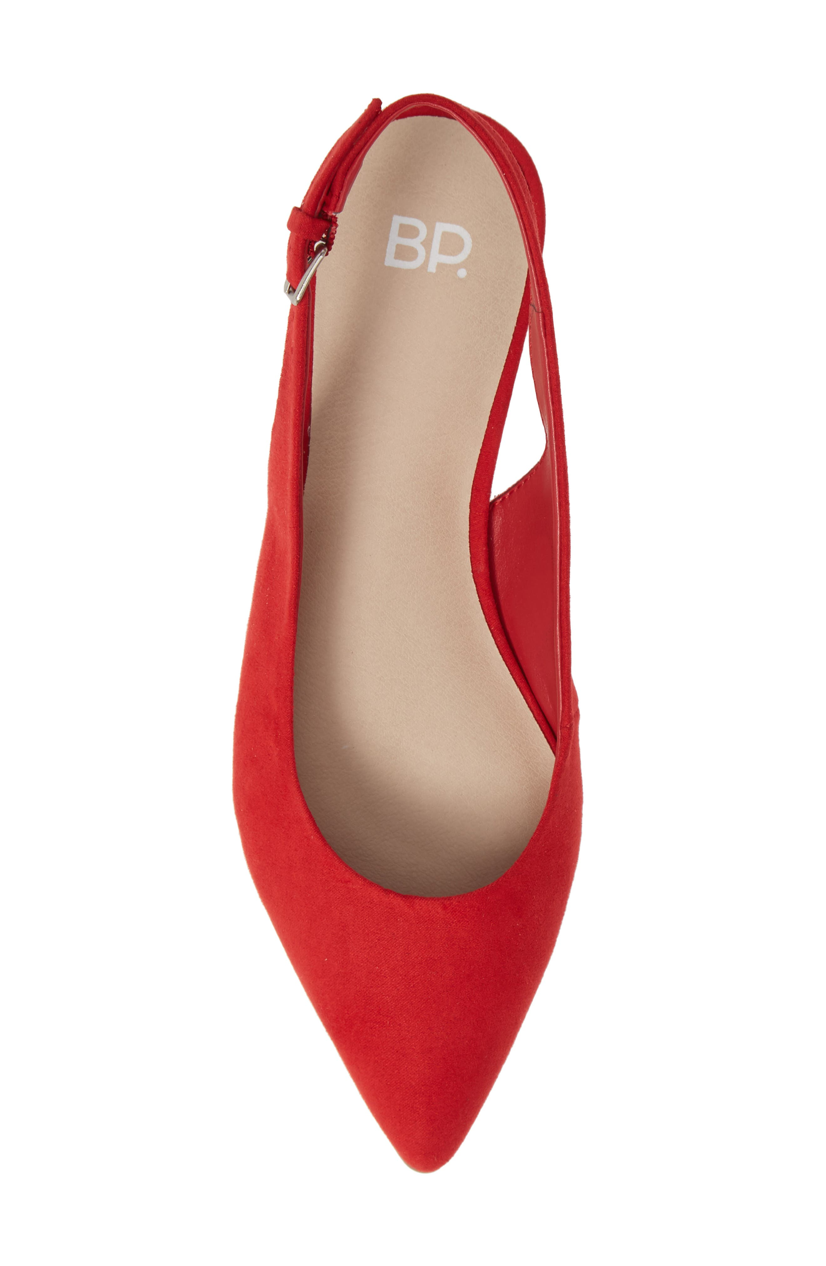 Sandra Slingback Flat,                             Alternate thumbnail 5, color,                             600