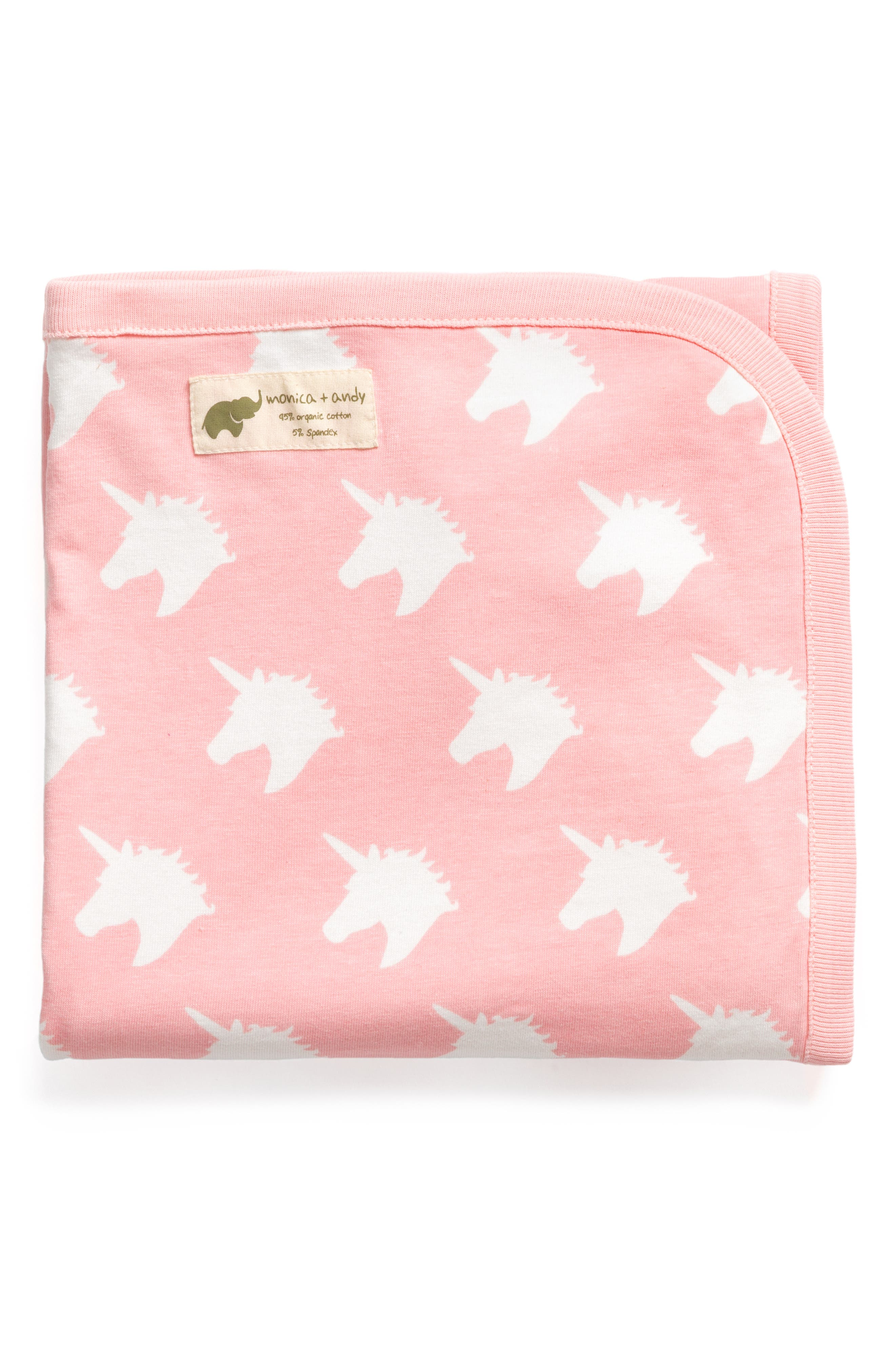 Believe in Unicorns Coming Home Blanket,                         Main,                         color, BELIEVE IN UNICORNS