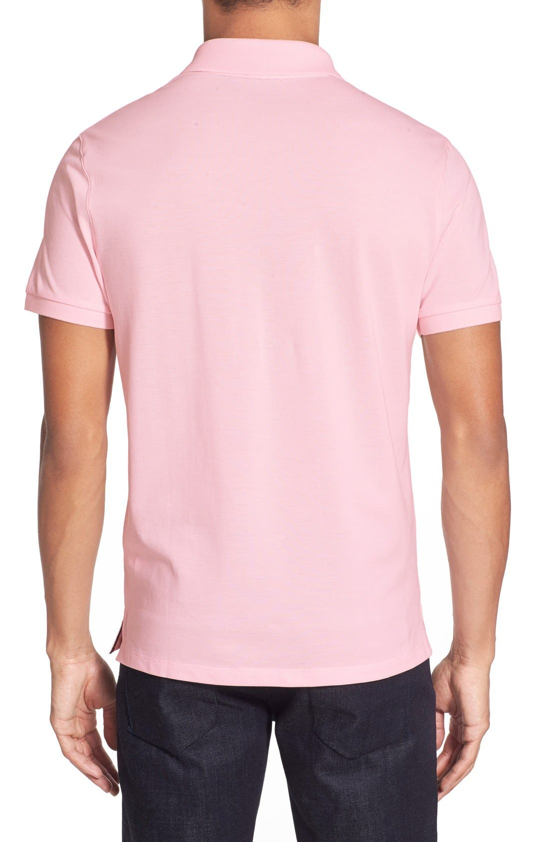 'Pallas' Regular Fit Logo Embroidered Polo Shirt,                             Alternate thumbnail 34, color,
