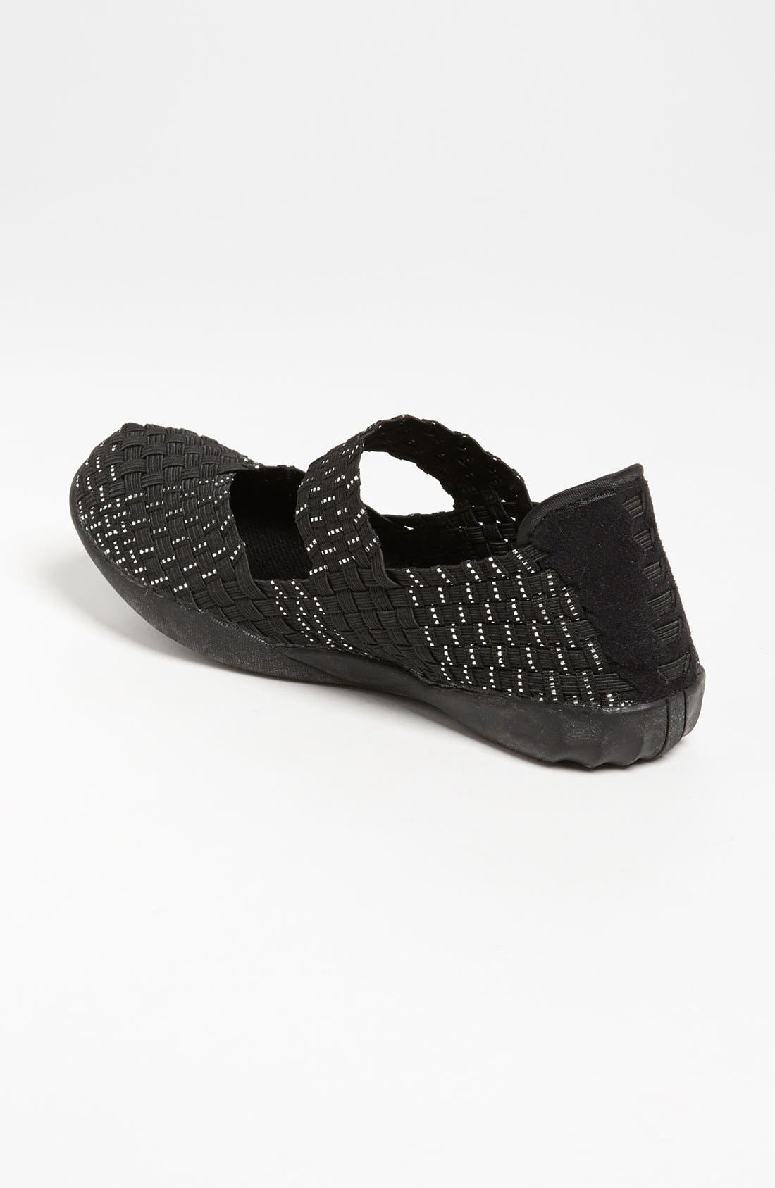 'Cuddly' Sneaker,                             Alternate thumbnail 4, color,                             BLACK SILVER