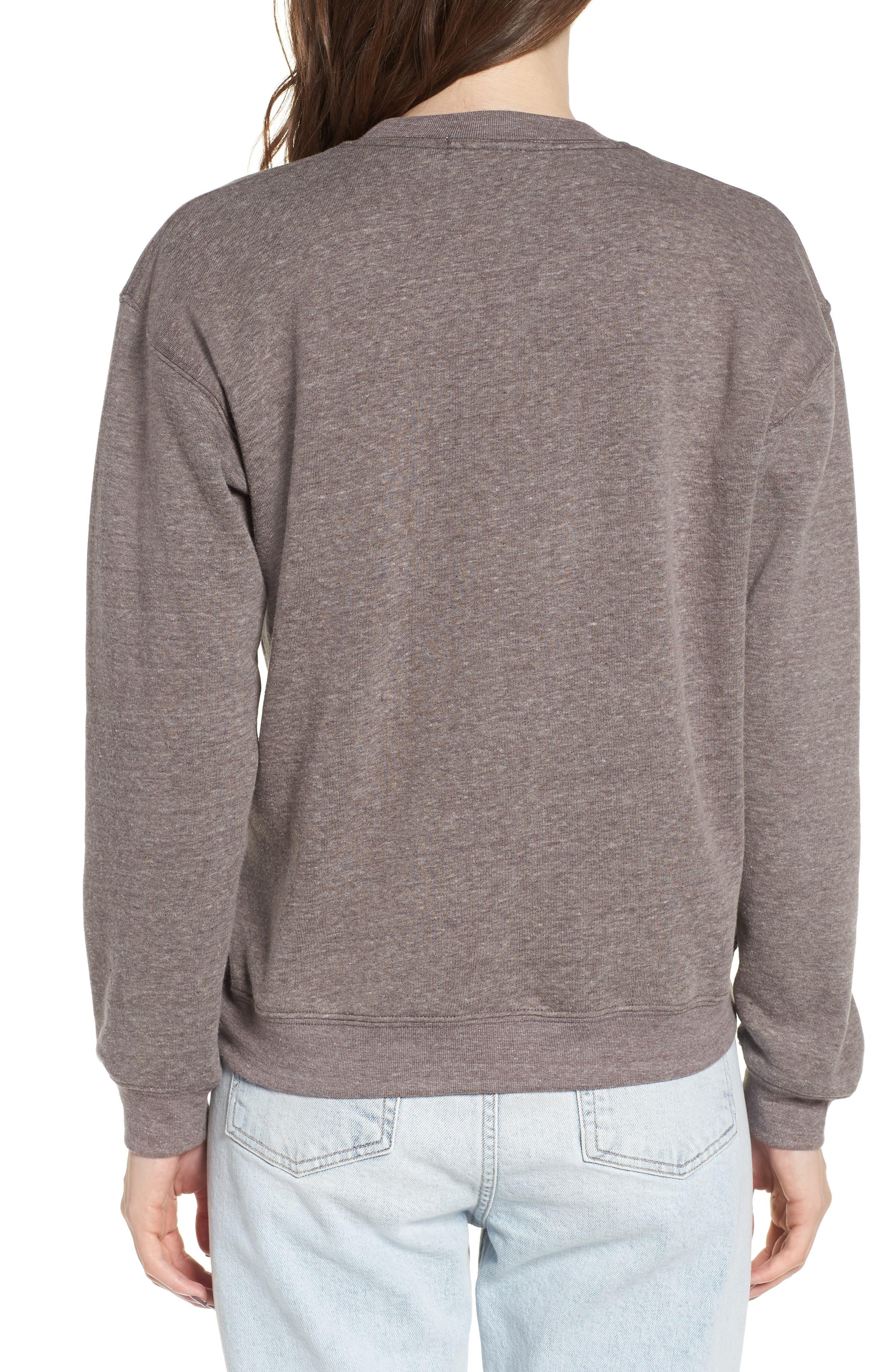 Good Vibes Rainbow Sweatshirt,                             Alternate thumbnail 2, color,                             050