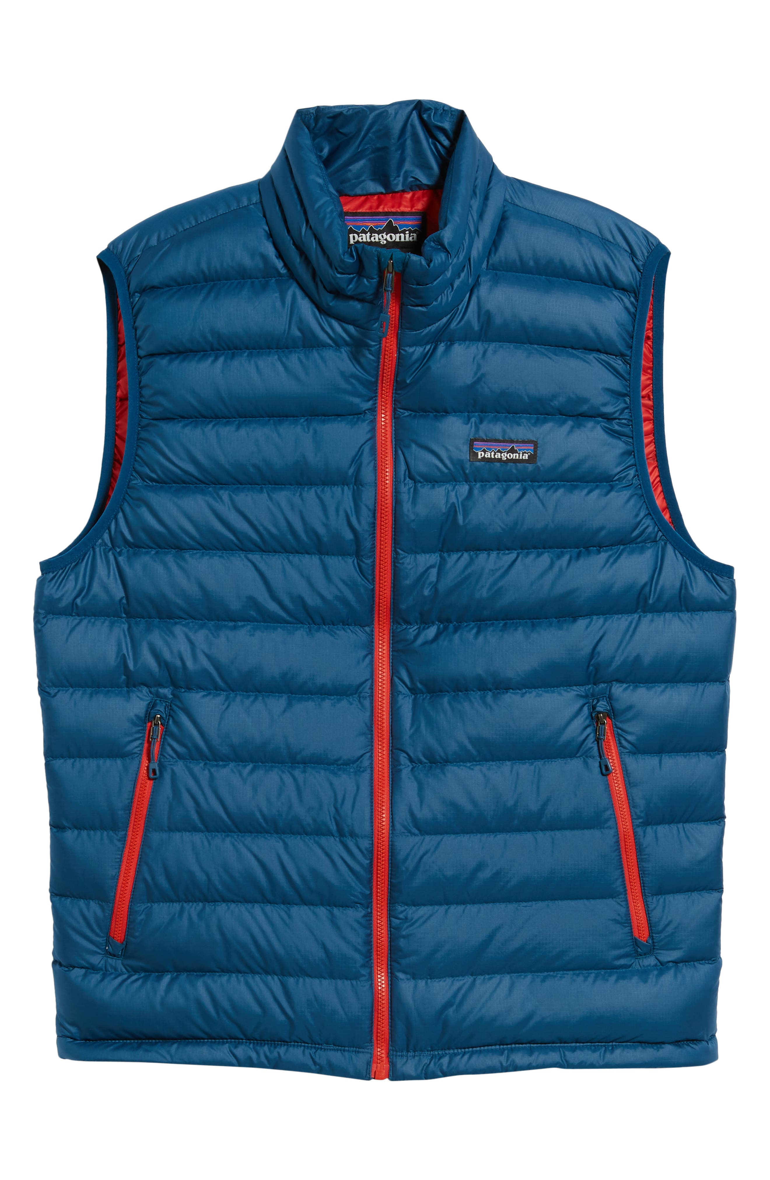 Windproof & Water Resistant 800 Fill Power Down Quilted Vest,                             Alternate thumbnail 39, color,