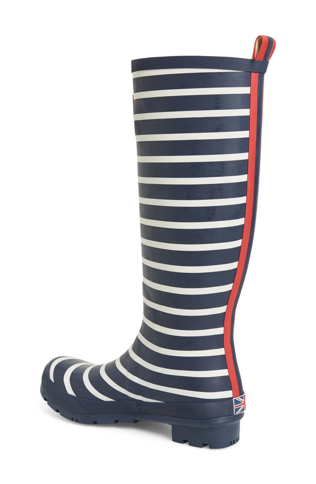 'Welly' Print Rain Boot,                             Alternate thumbnail 63, color,