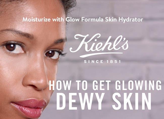Moisturize with Glow Formula Skin Hydrator.