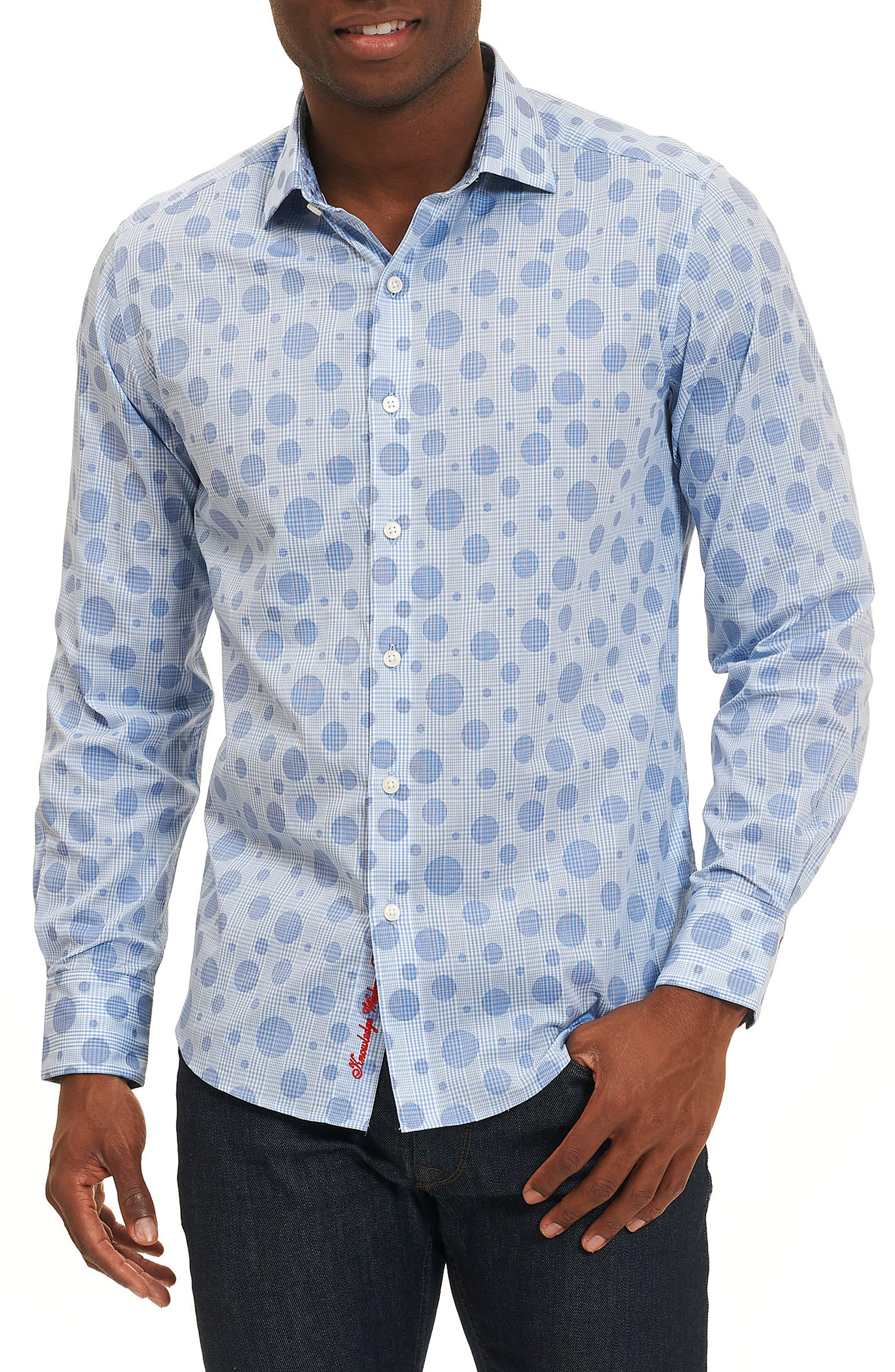 Phillip Print Sport Shirt,                             Main thumbnail 1, color,                             400