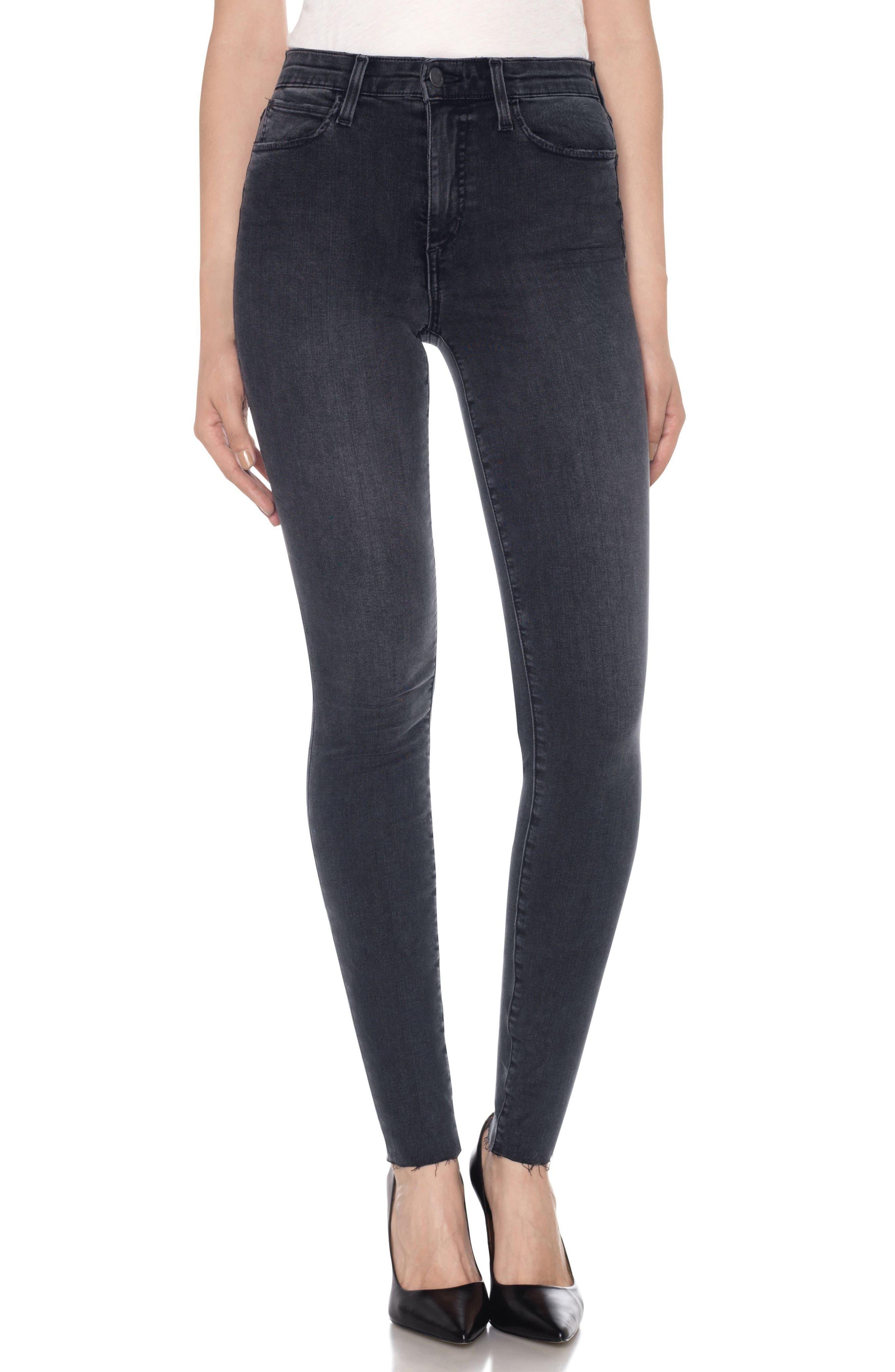 Flawless - Charlie High Waist Skinny Jeans,                             Main thumbnail 1, color,                             015