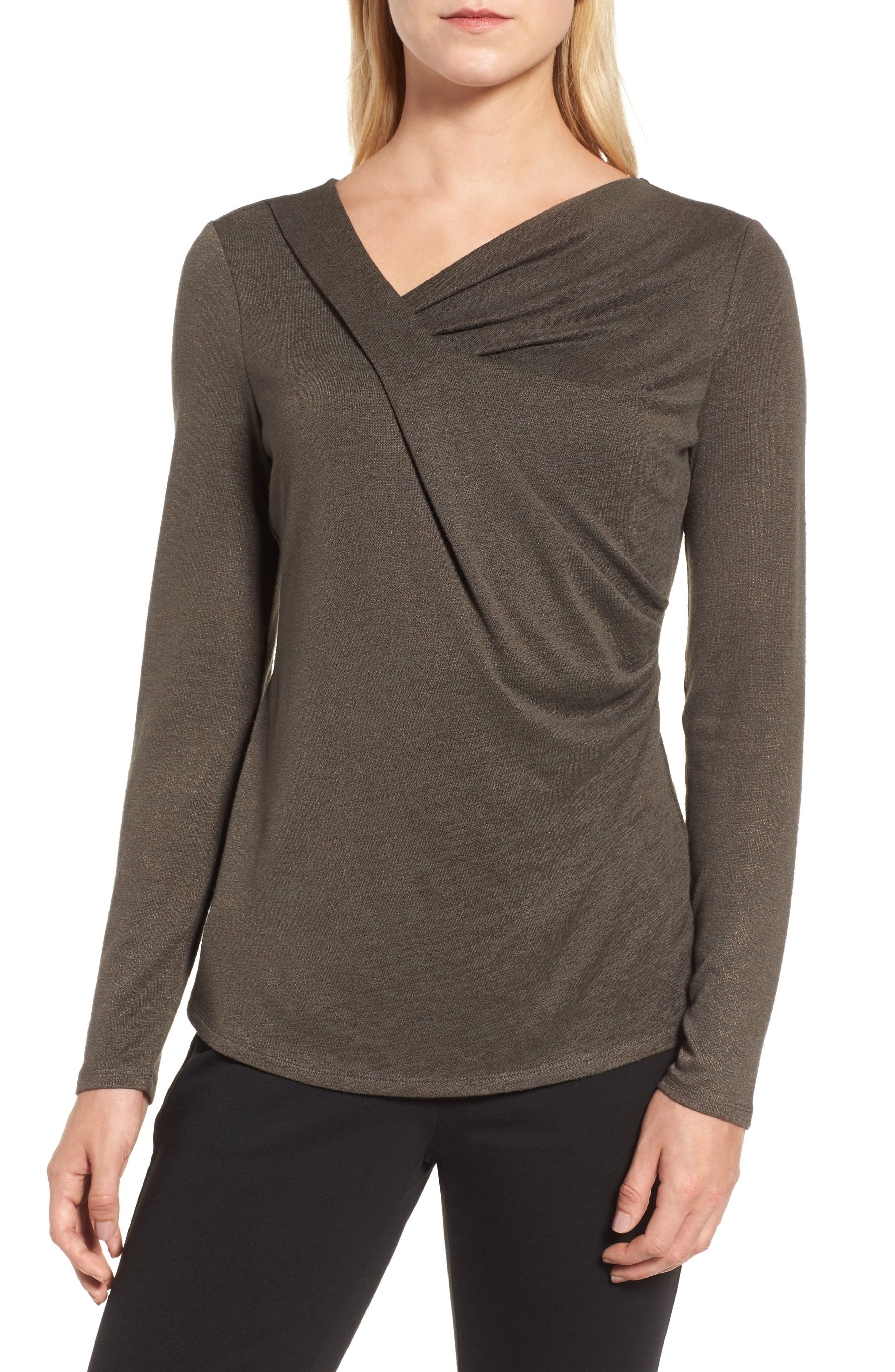 Every Occasion Drape Top,                             Main thumbnail 3, color,