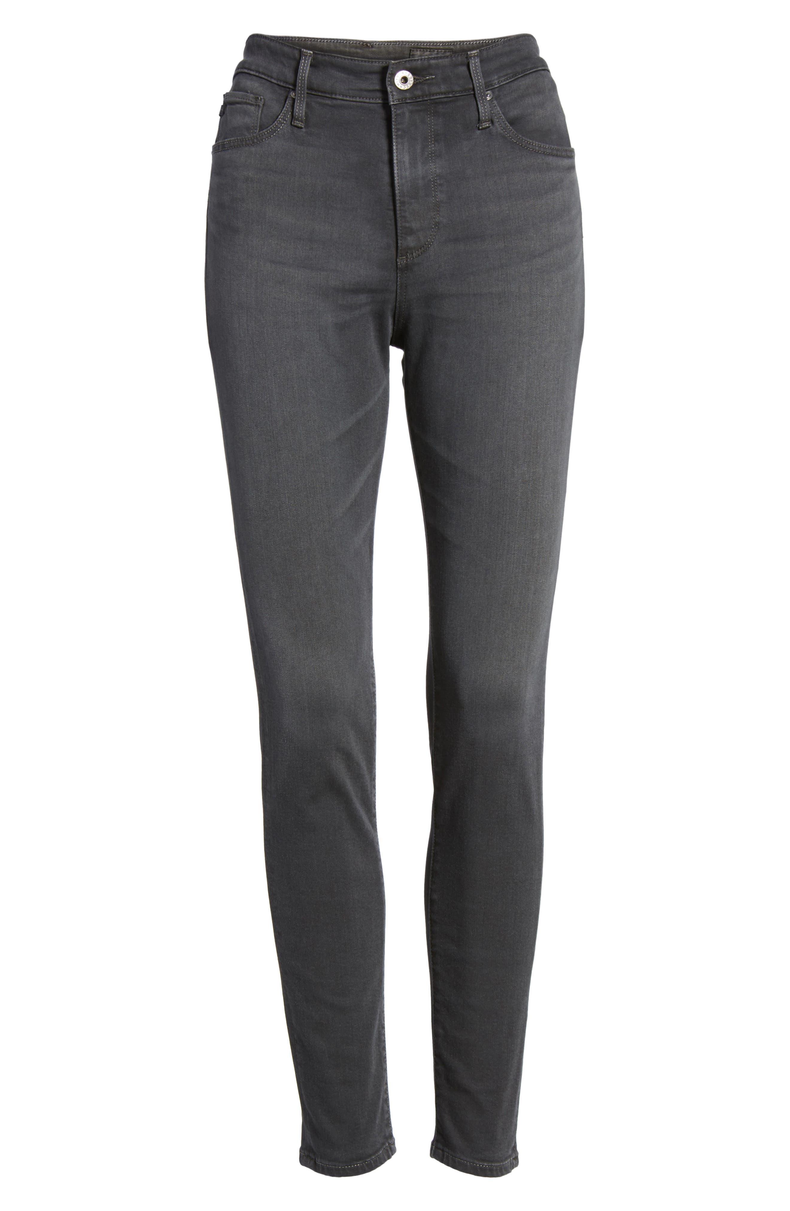 Farrah High Waist Ankle Skinny Jeans,                             Alternate thumbnail 13, color,