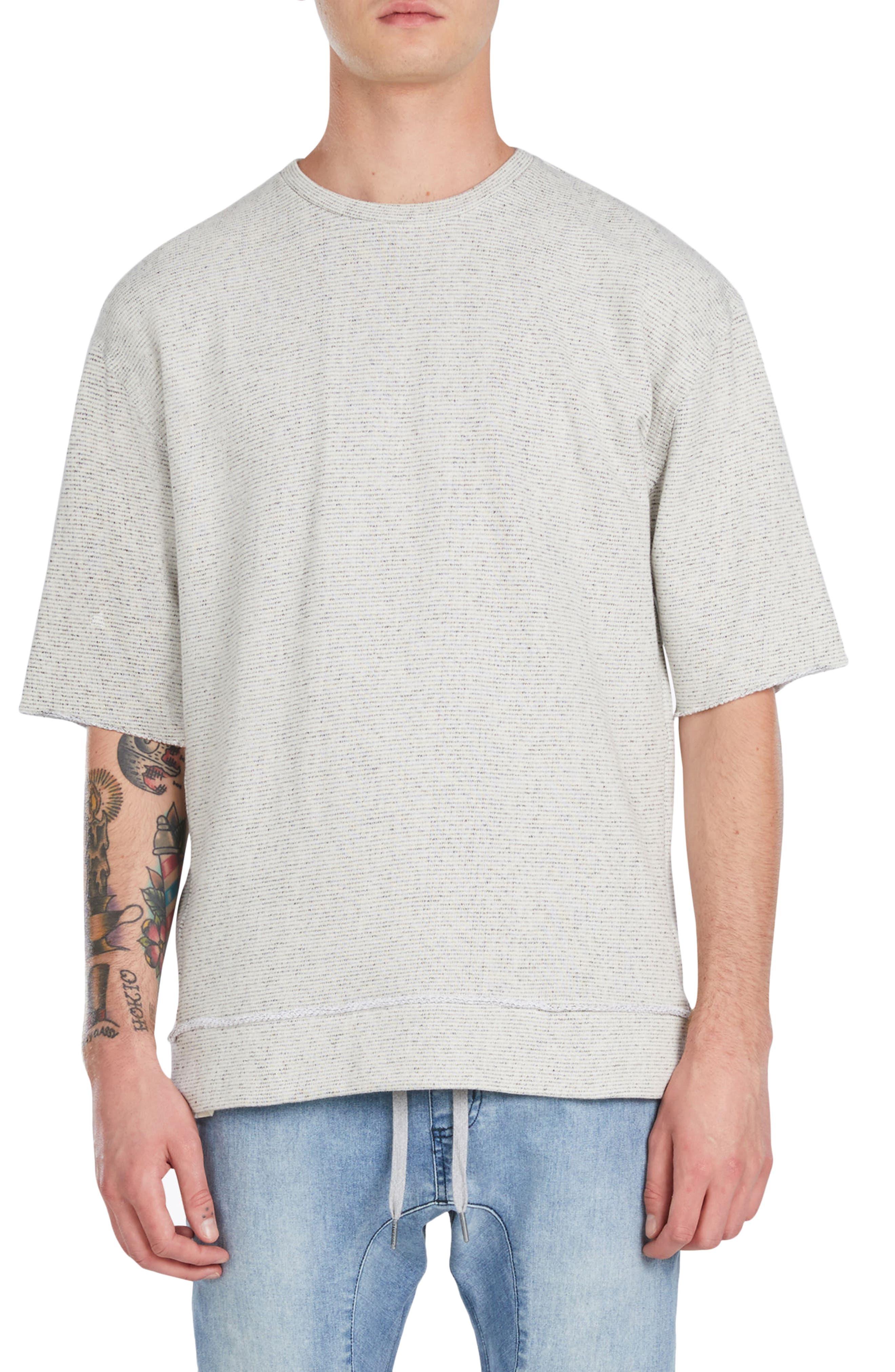 Rugger Oversize Half Sleeve Sweatshirt,                         Main,                         color, 251