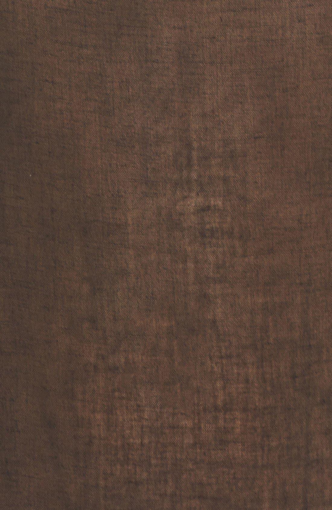 'Amnesia' Cotton Gauze Cover-Up Caftan,                             Alternate thumbnail 5, color,                             BLACK