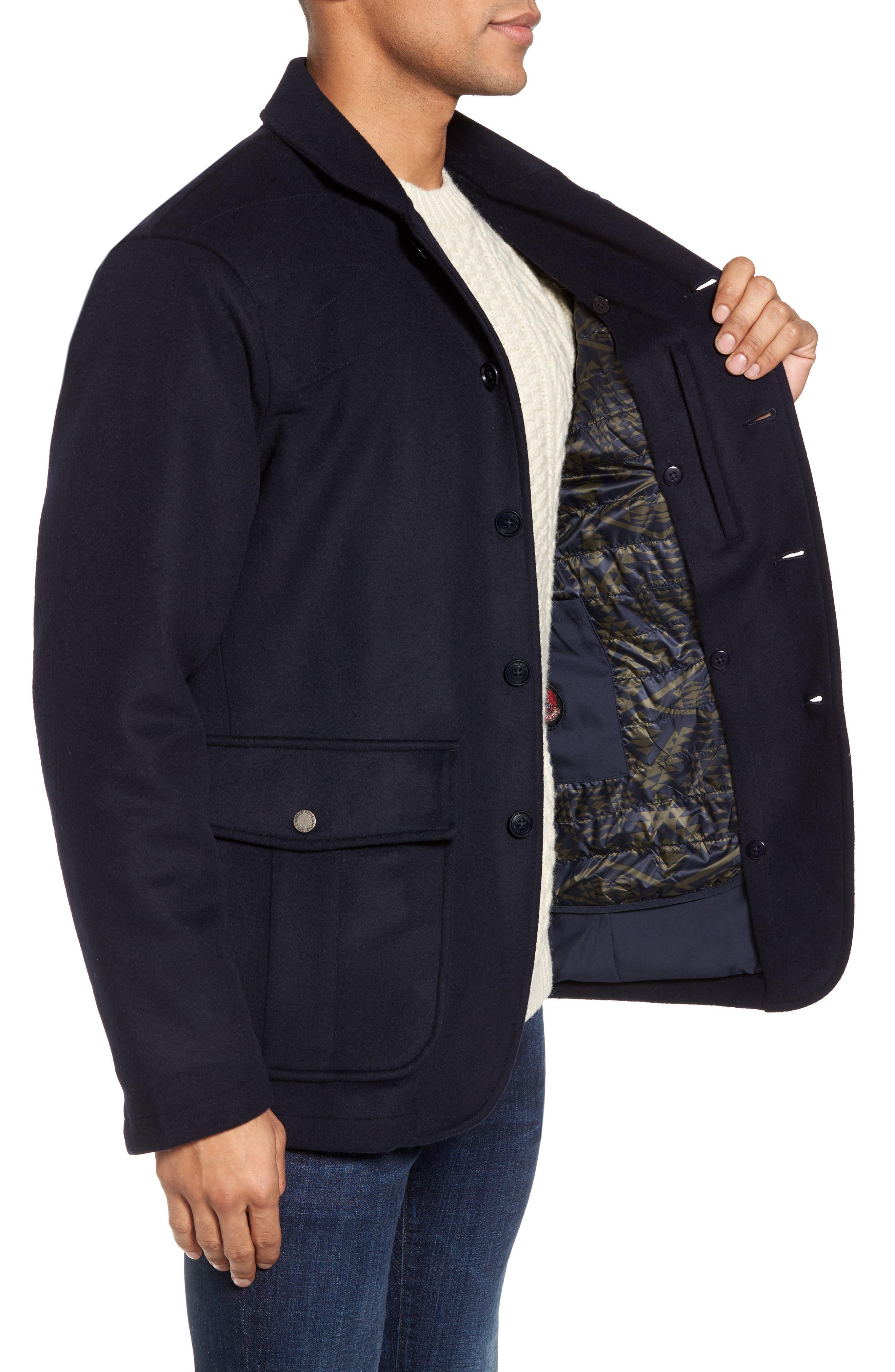 Wool Hybrid Blazer,                             Alternate thumbnail 3, color,