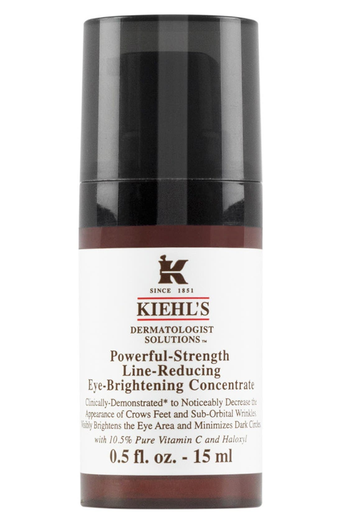 Kiehl's Since 1851 'Dermatologist Solutions<sup>™</sup>' Powerful-Strength Line-Reducing Eye-Brightening Concentrate,                         Main,                         color, NO COLOR