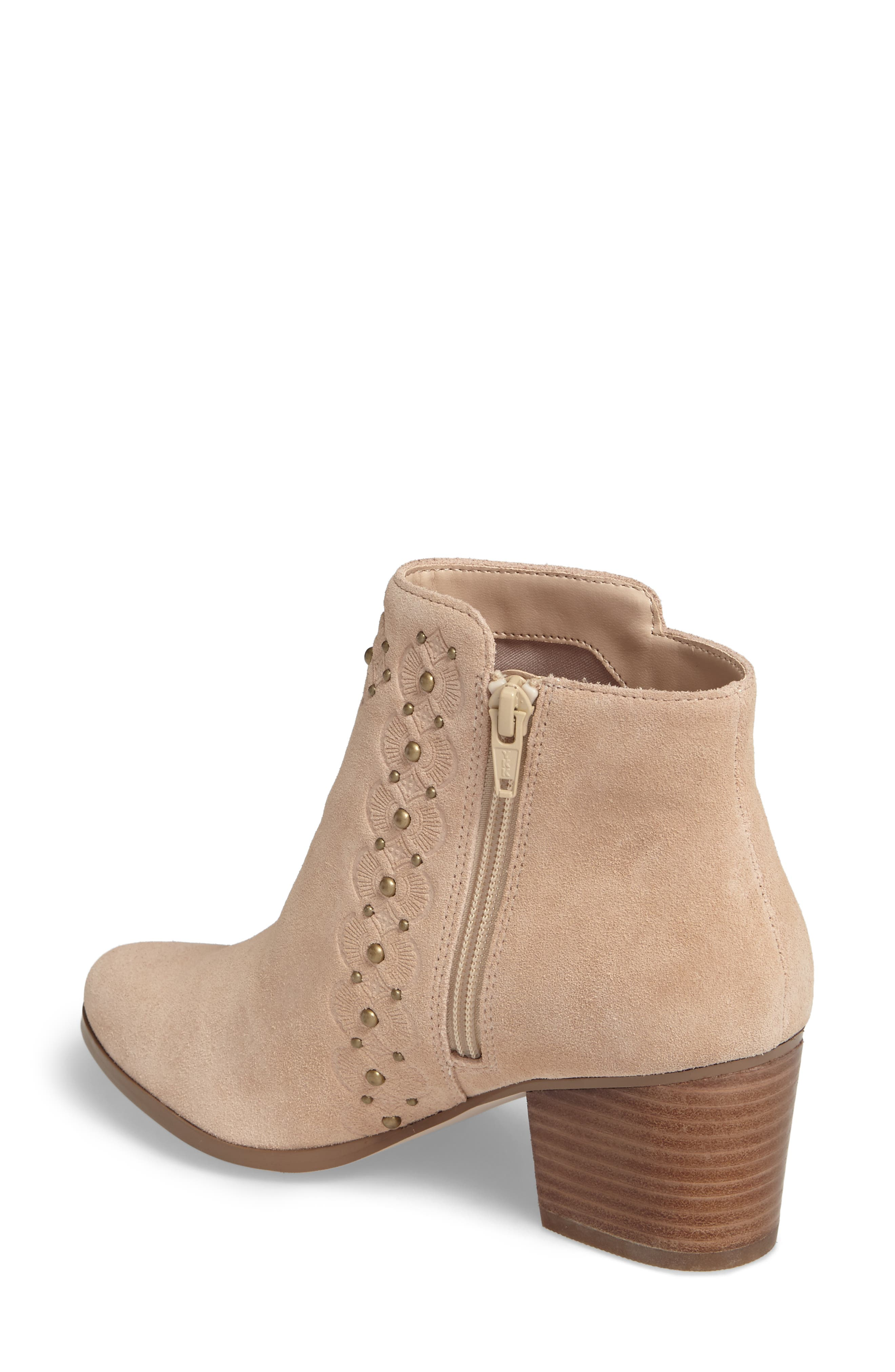 Gala Studded Embossed Bootie,                             Alternate thumbnail 5, color,