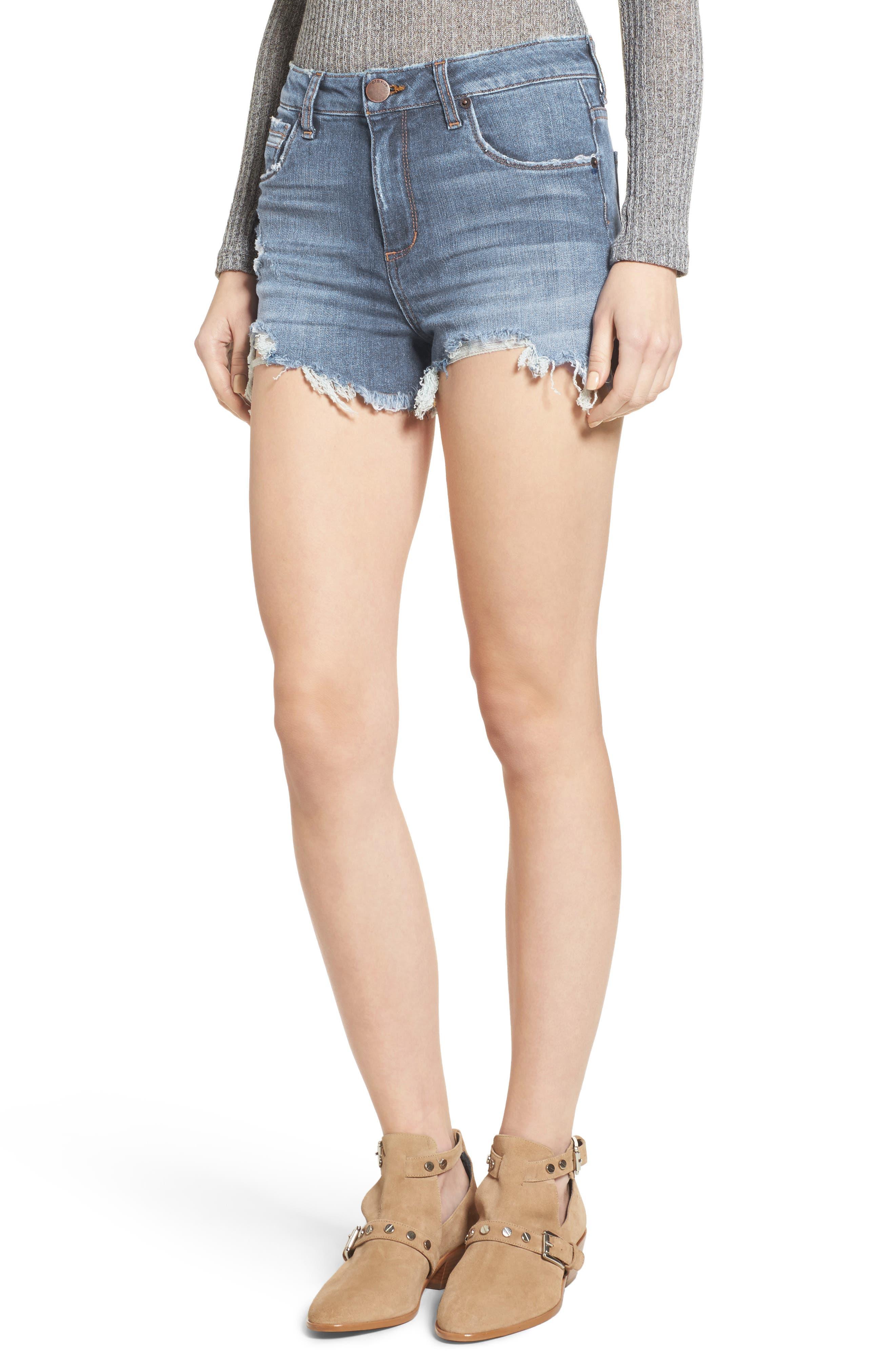 Rose Bowl Denim Shorts,                         Main,                         color,