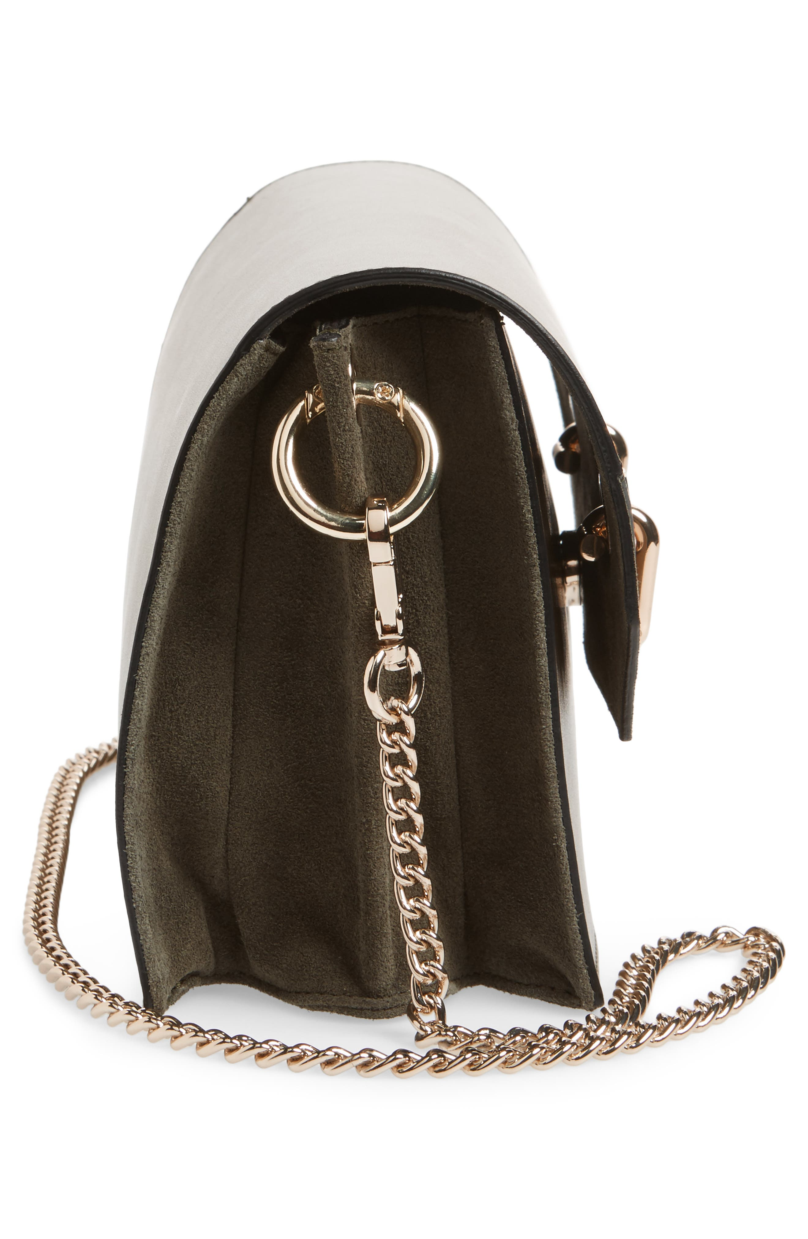 Premium Leather & Suede Soko Shoulder Bag,                             Alternate thumbnail 5, color,