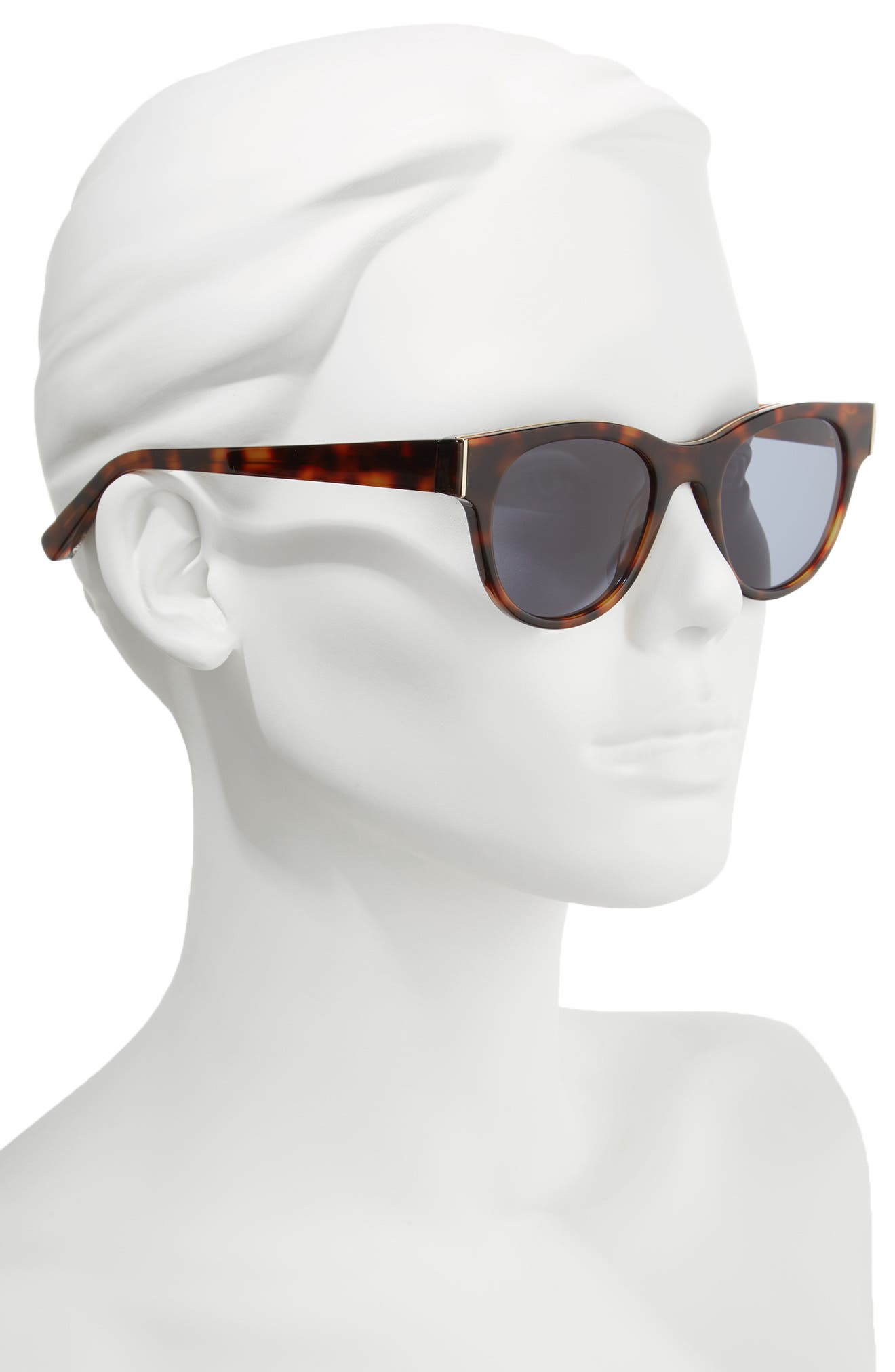 Blair 50mm Cat Eye Sunglasses,                             Alternate thumbnail 2, color,                             020