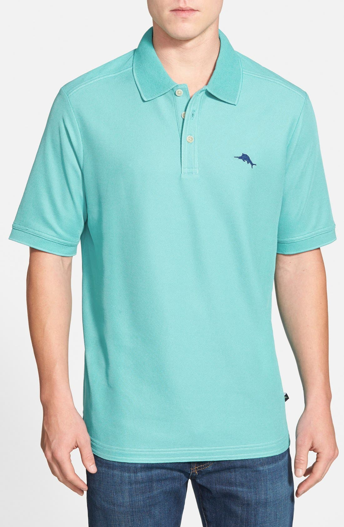 'The Emfielder' Original Fit Piqué Polo,                             Main thumbnail 64, color,