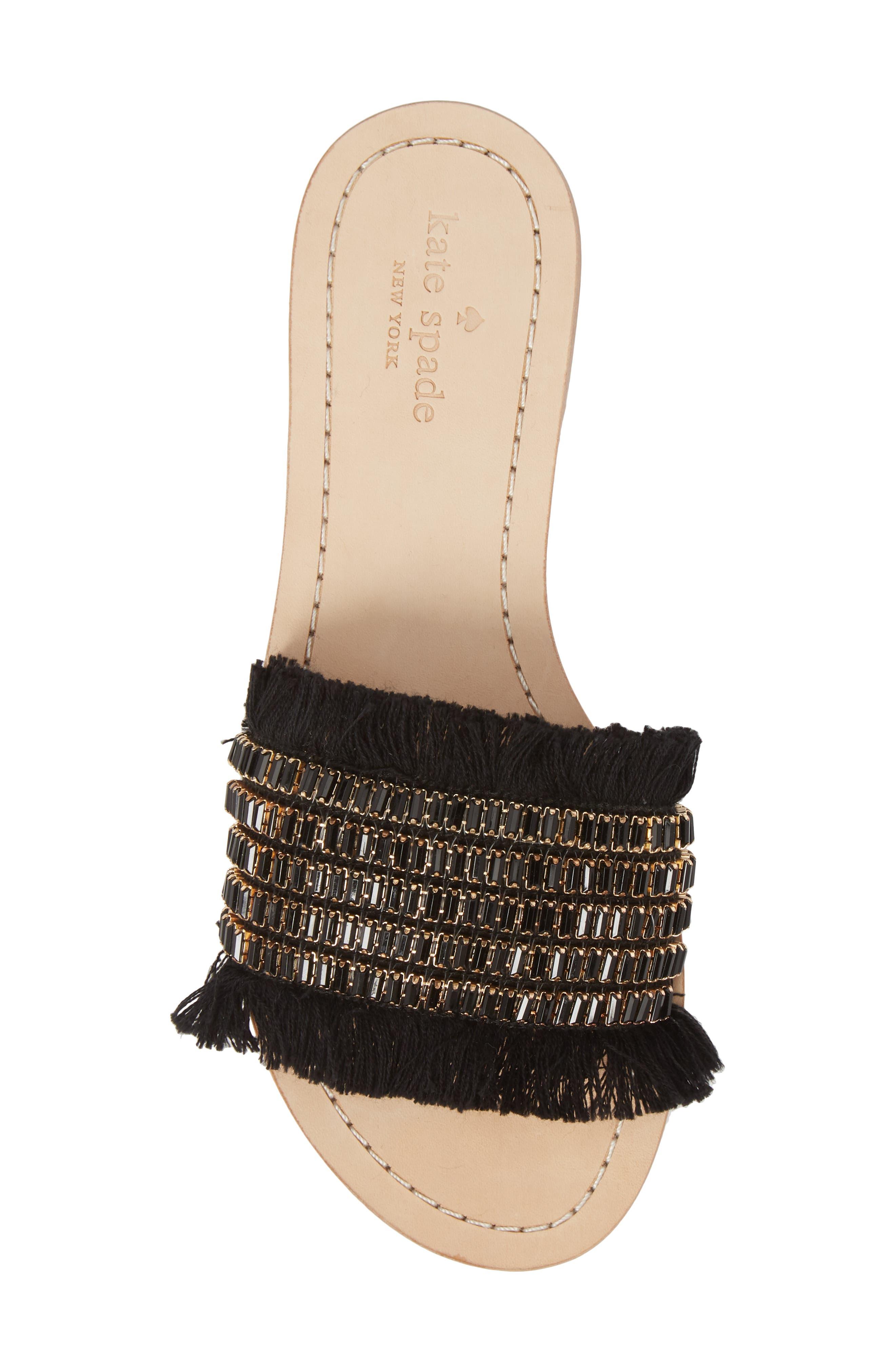 solaina slide sandal,                             Alternate thumbnail 9, color,