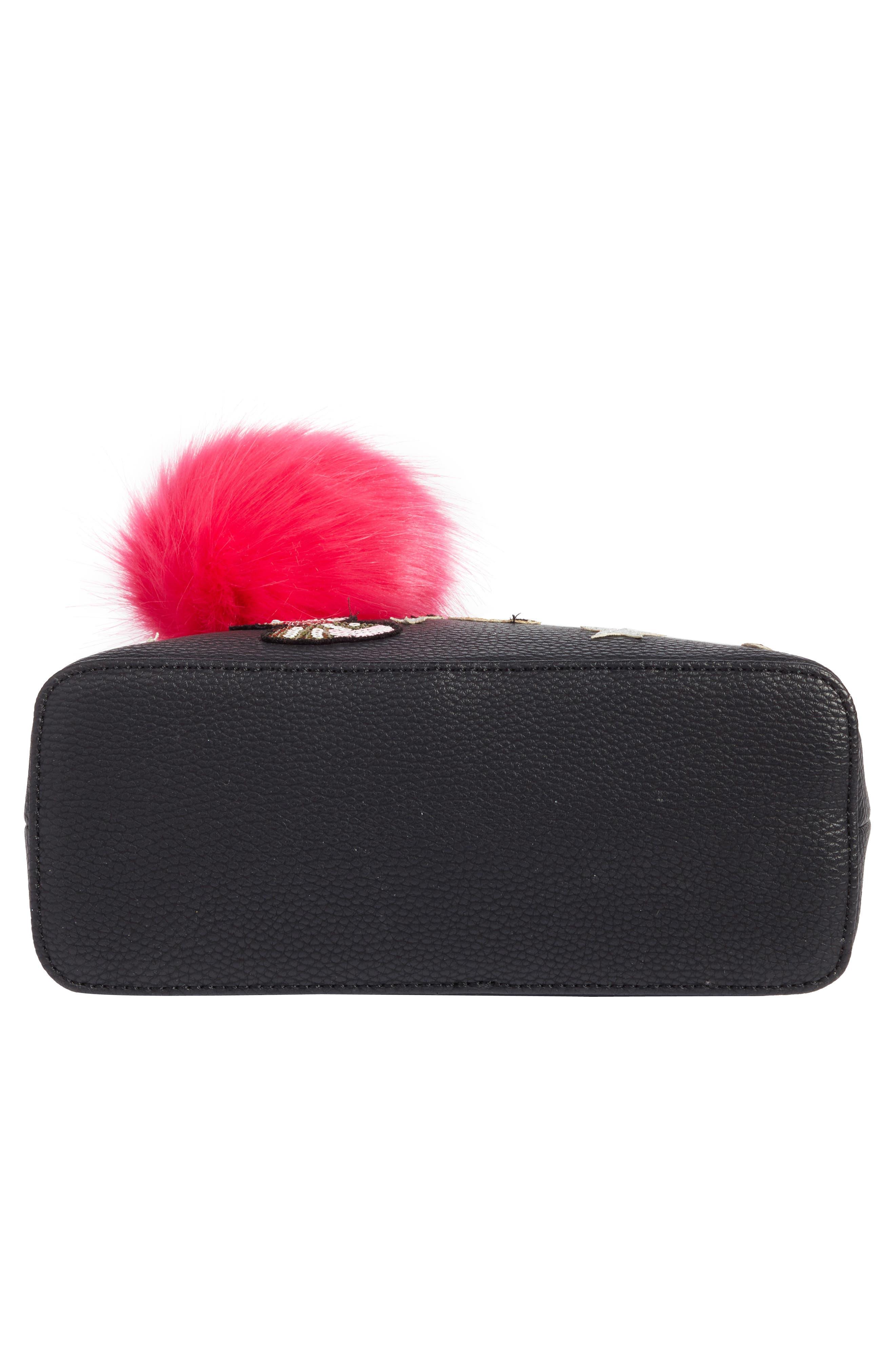 Appliqué Handbag,                             Alternate thumbnail 5, color,                             006
