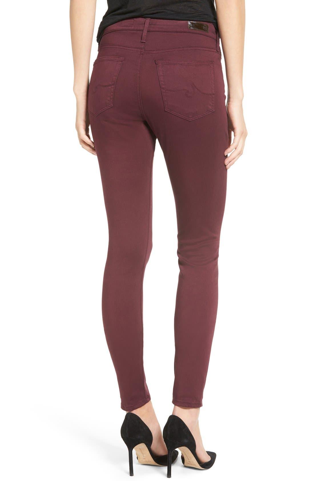 The Farrah High Rise Skinny Jeans,                             Alternate thumbnail 16, color,