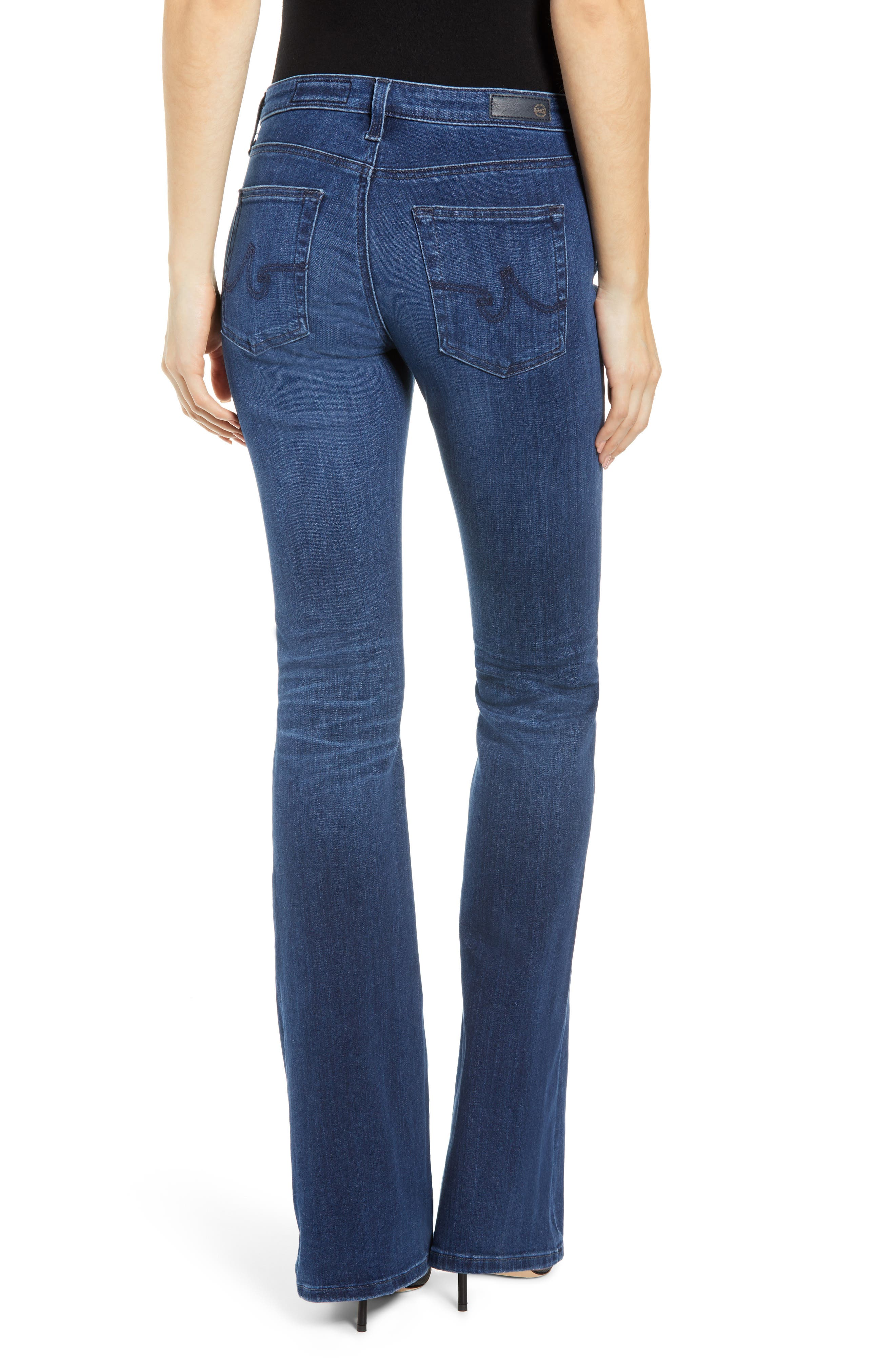 Angel Bootcut Jeans,                             Alternate thumbnail 2, color,                             05 YEAR BLUE ESSENCE