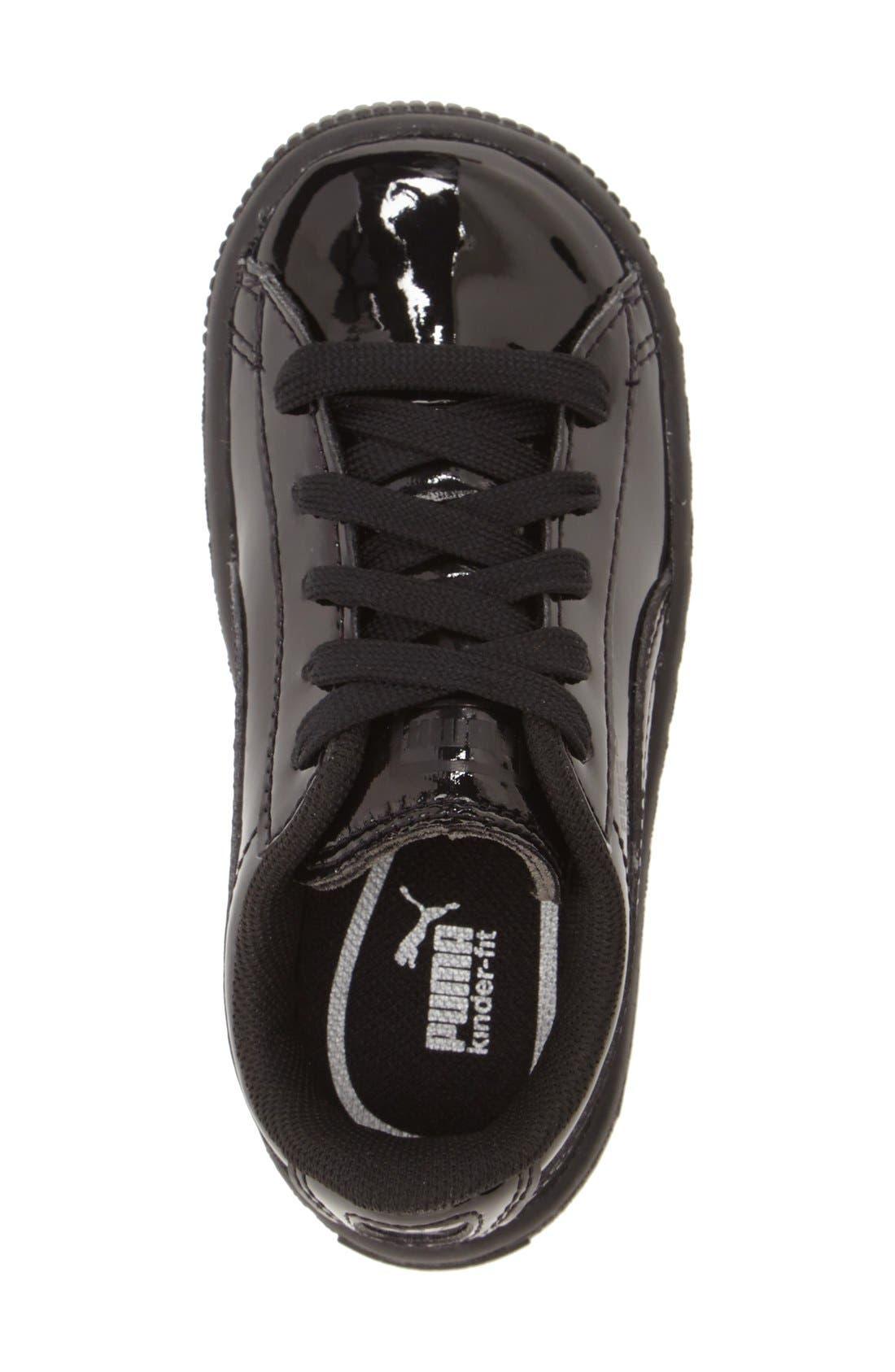 'Basket Classic' Shoe,                             Alternate thumbnail 3, color,                             001