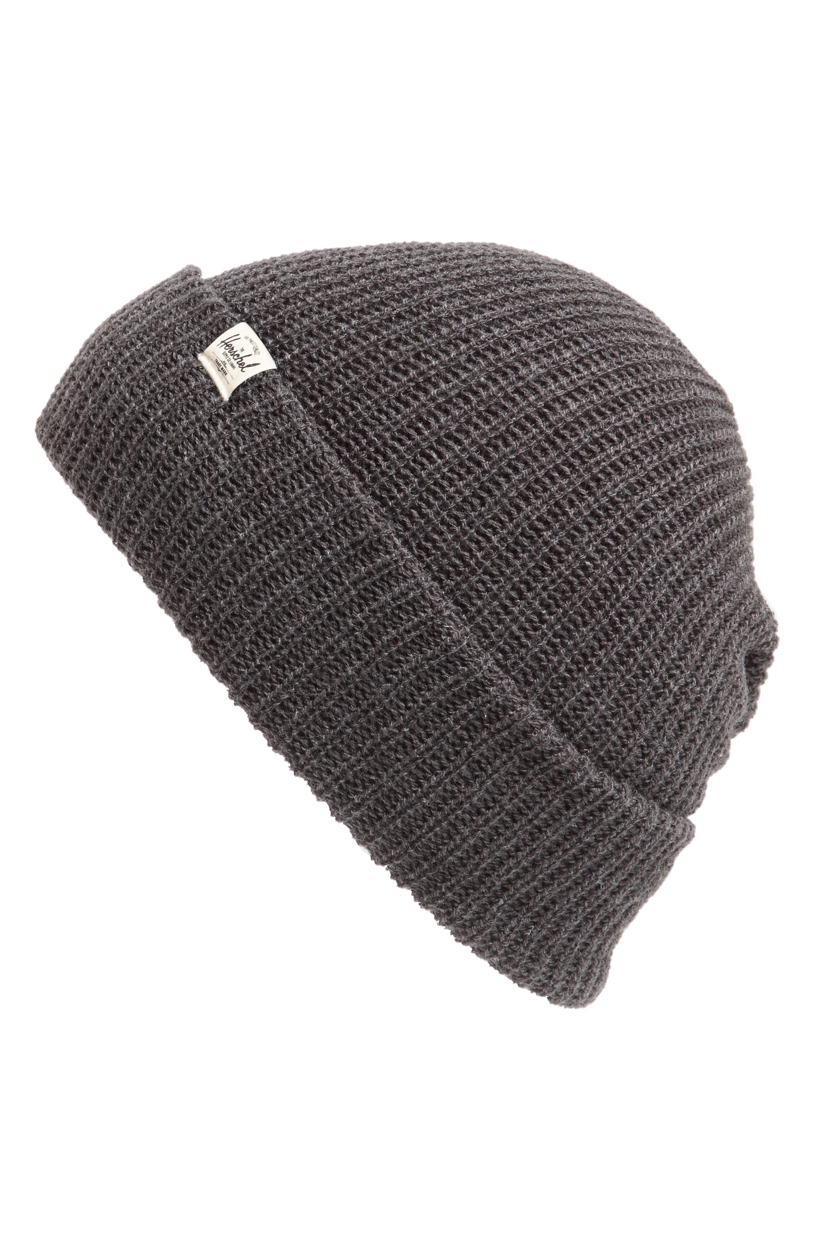 'Quartz' Solid Knit Cap,                         Main,                         color, 033
