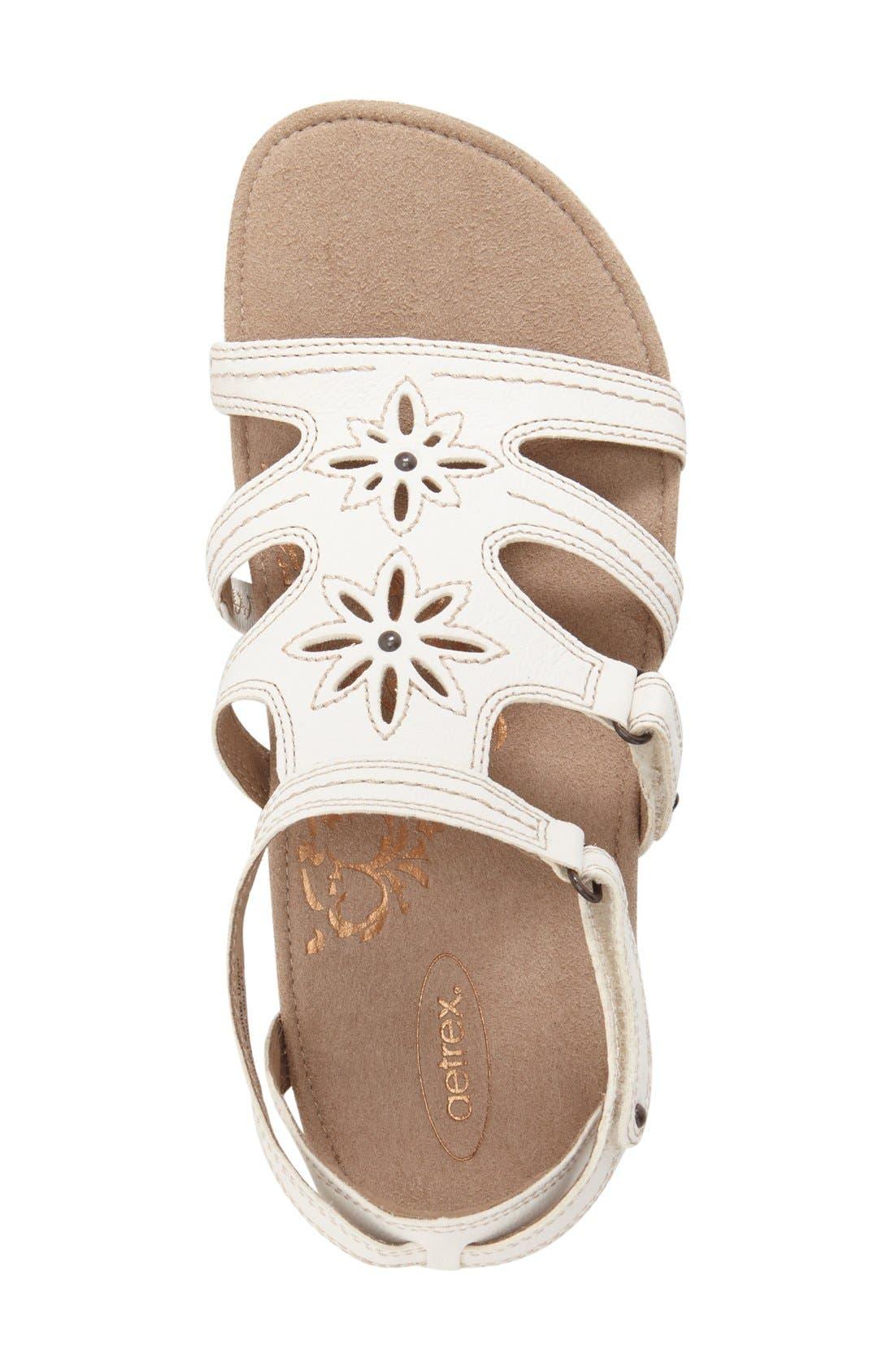 'Natasha' Gladiator Sandal,                             Alternate thumbnail 7, color,