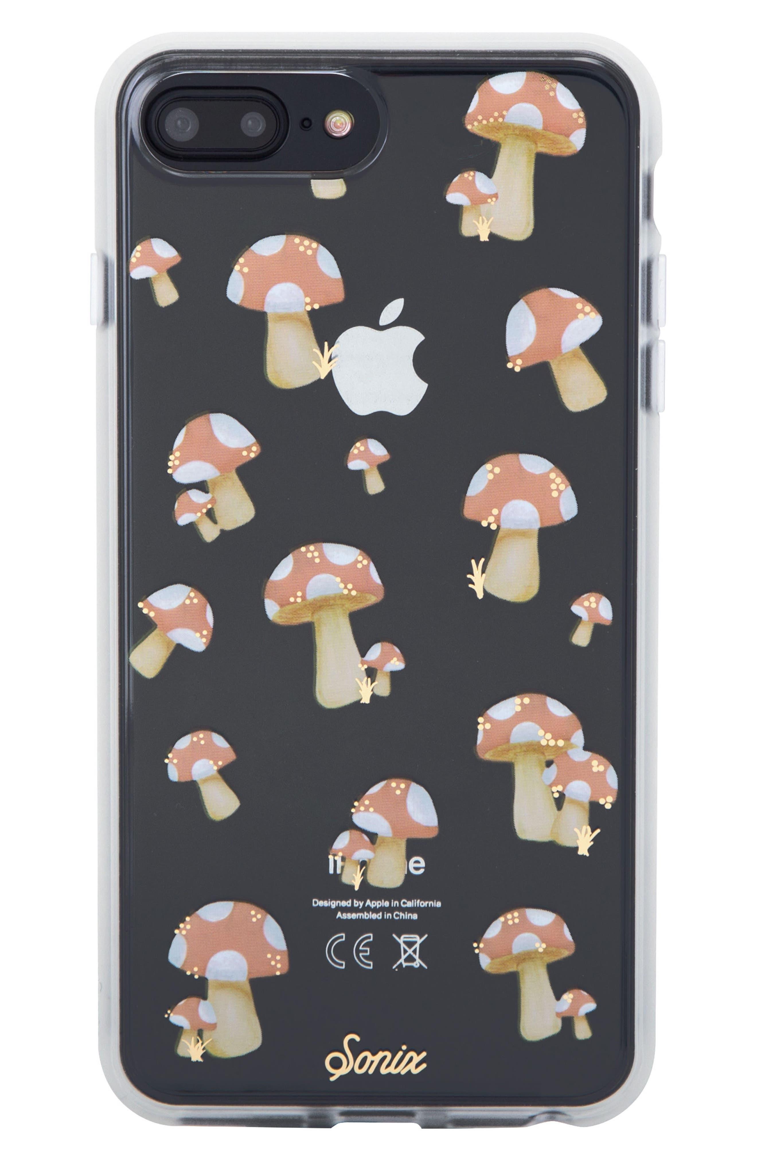 Mushroom iPhone 6/6s/7/8 & 6/6s/7/8 Plus Case,                             Main thumbnail 1, color,                             650
