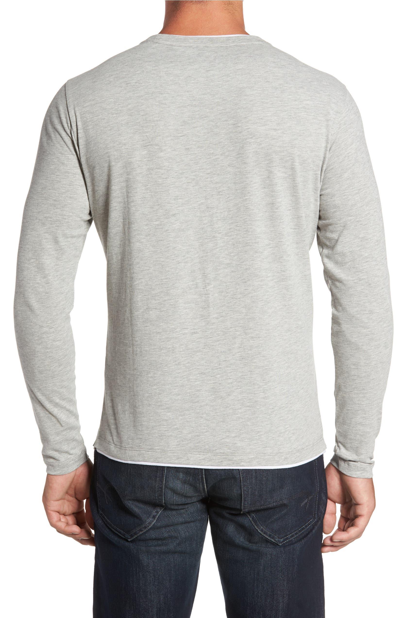 e6da5abb45f3bf Robert Barakett Halifax Long Sleeve Crewneck T-Shirt