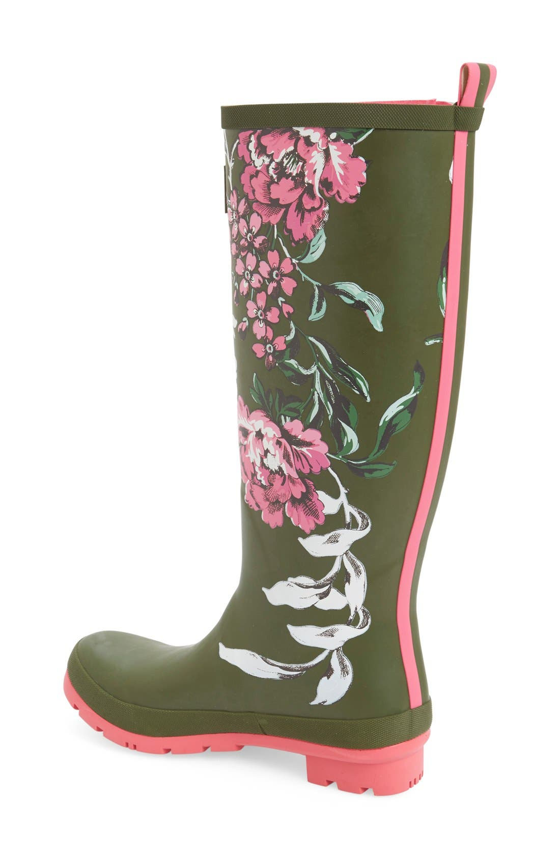 'Welly' Print Rain Boot,                             Alternate thumbnail 58, color,