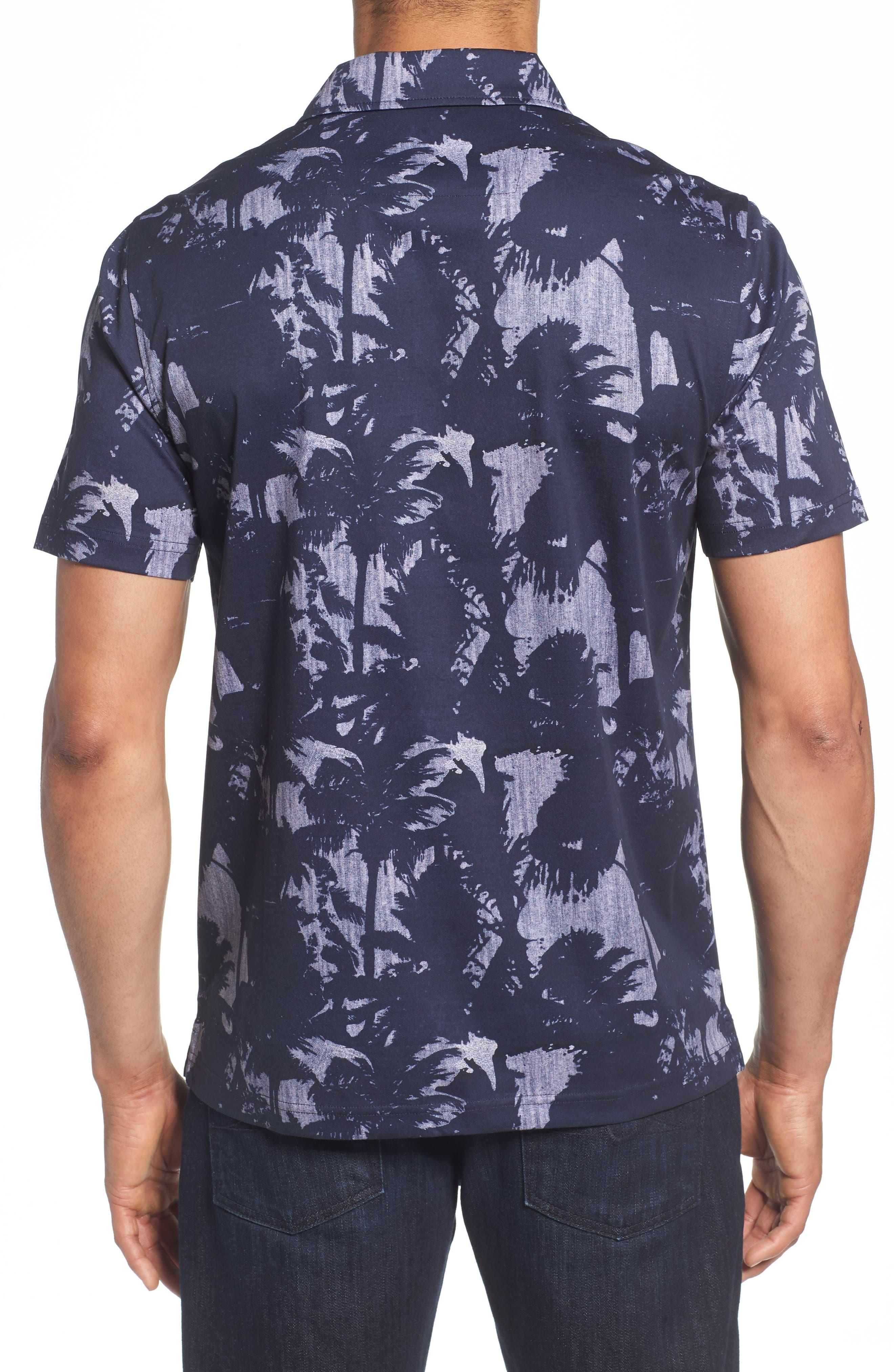 Palm Tree Knit Polo,                             Alternate thumbnail 2, color,                             410