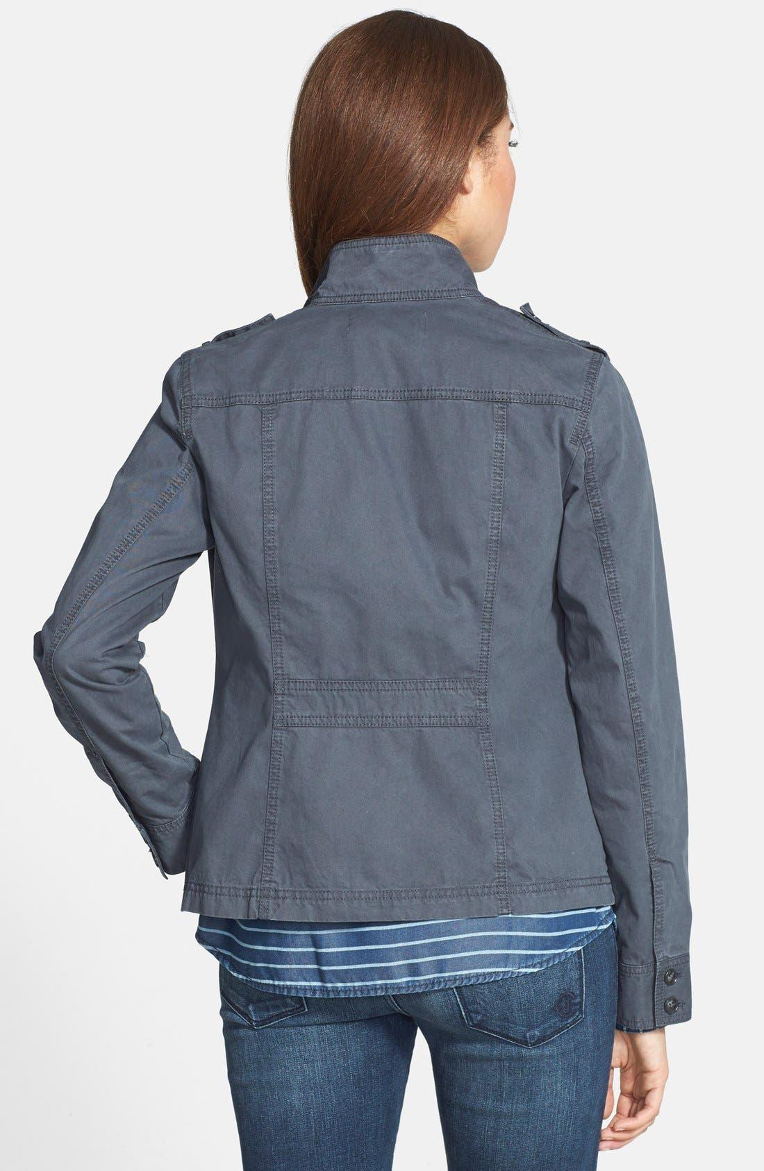 Front Zip Field Jacket,                             Alternate thumbnail 2, color,                             021