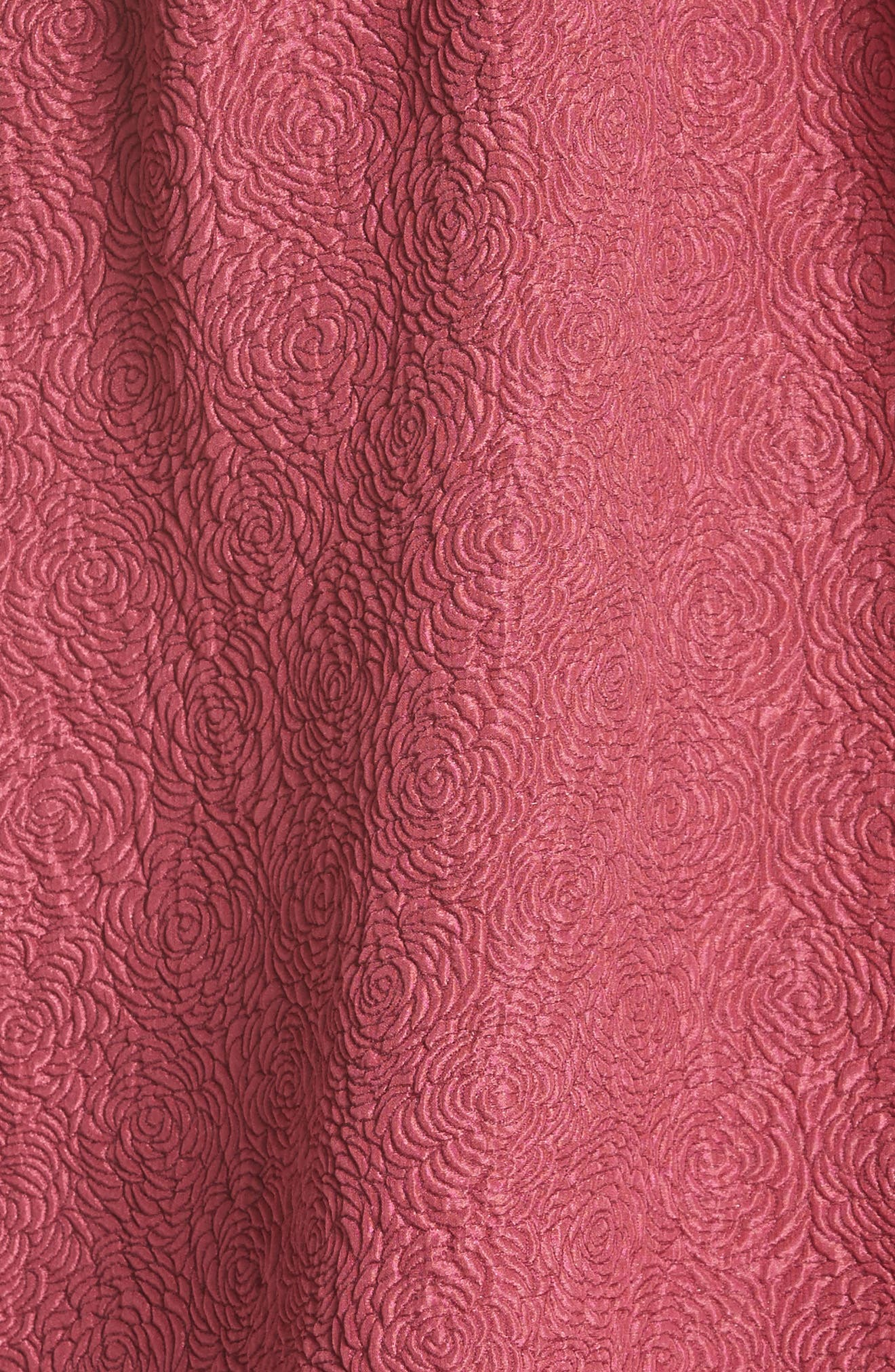 Off the Shoulder Silk Blend Top,                             Alternate thumbnail 5, color,
