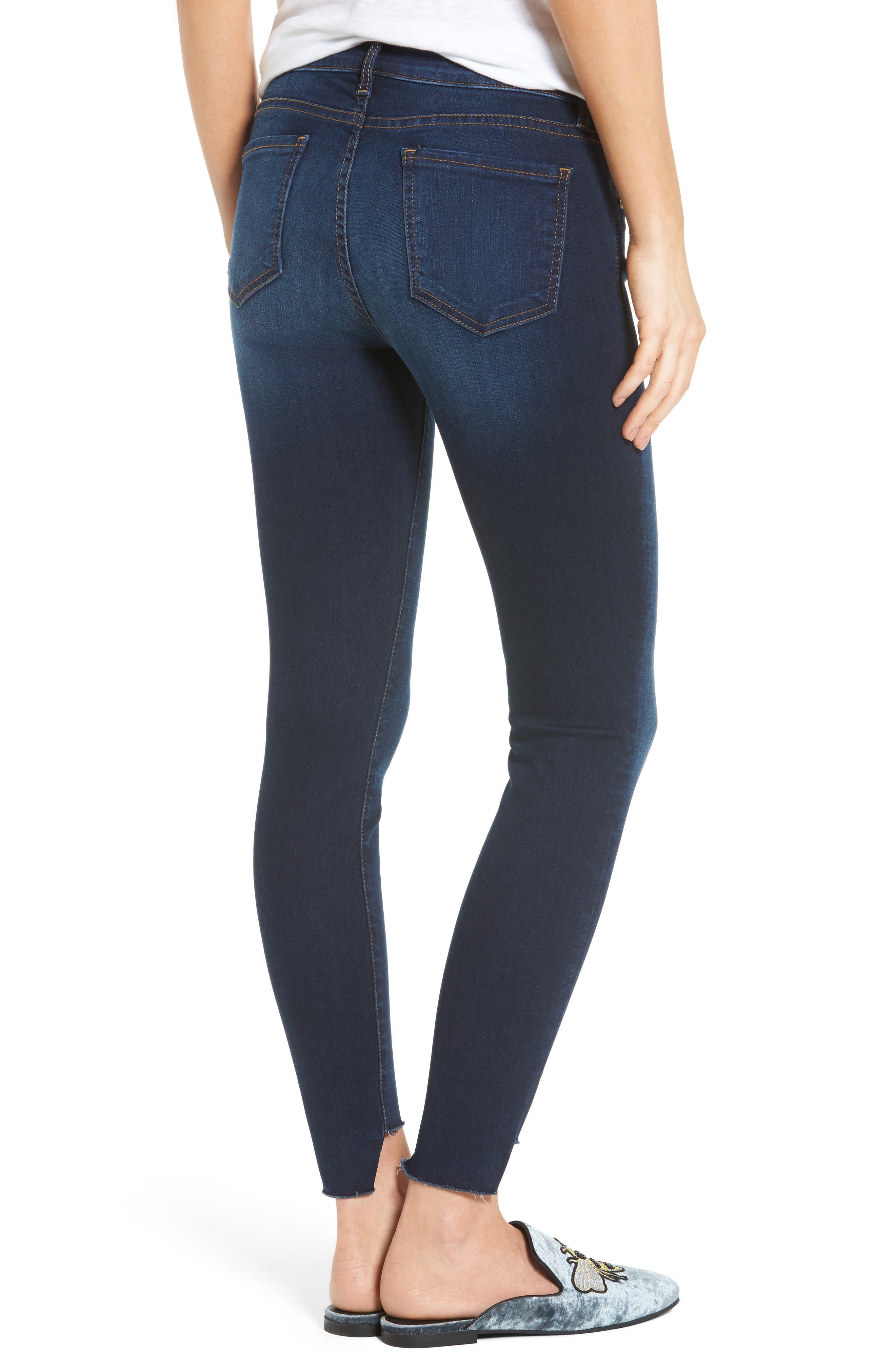 Connie Step Hem Ankle Jeans,                             Alternate thumbnail 2, color,                             410