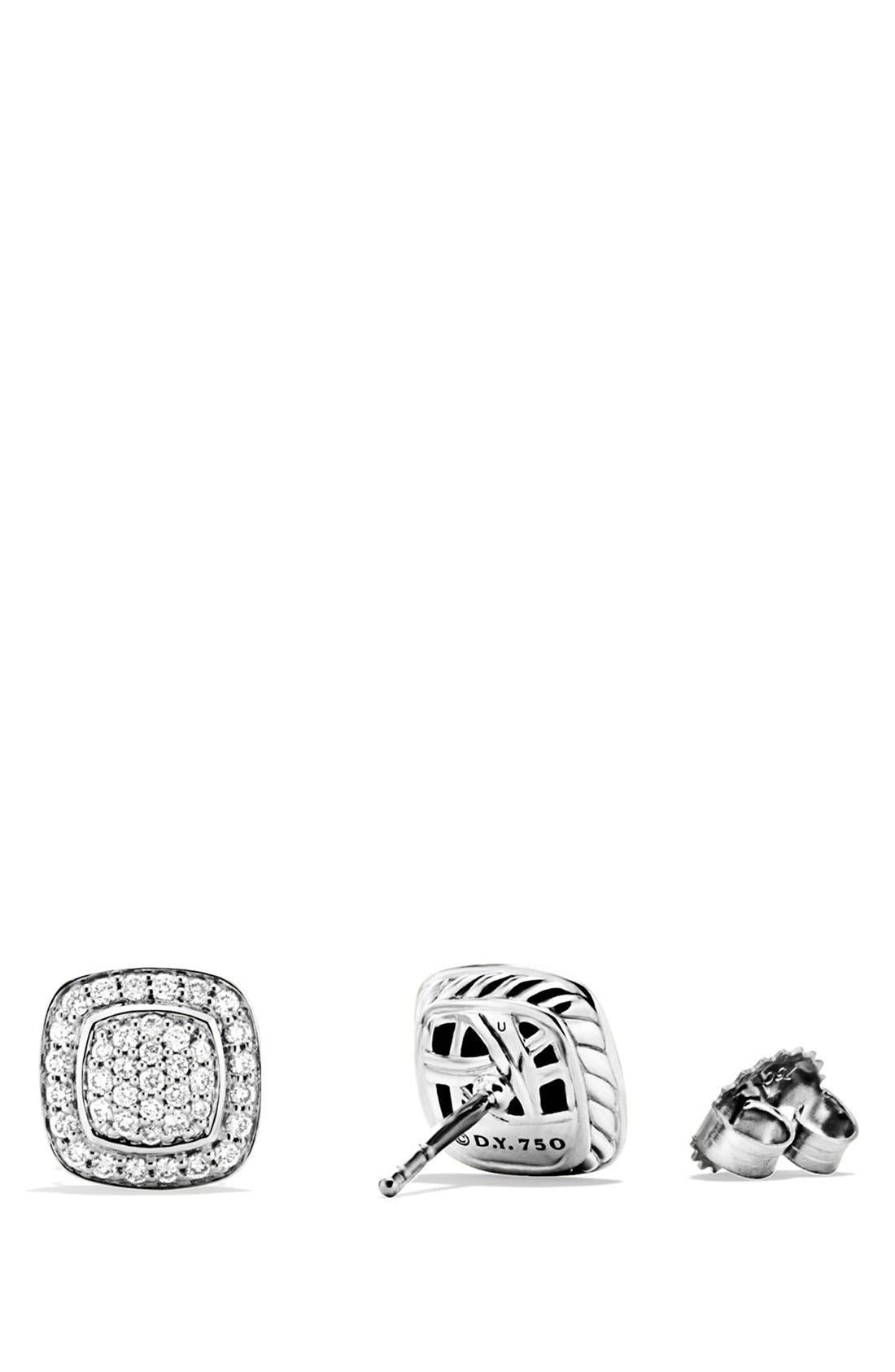 'Albion' Earrings with Diamonds,                             Alternate thumbnail 3, color,                             DIAMOND