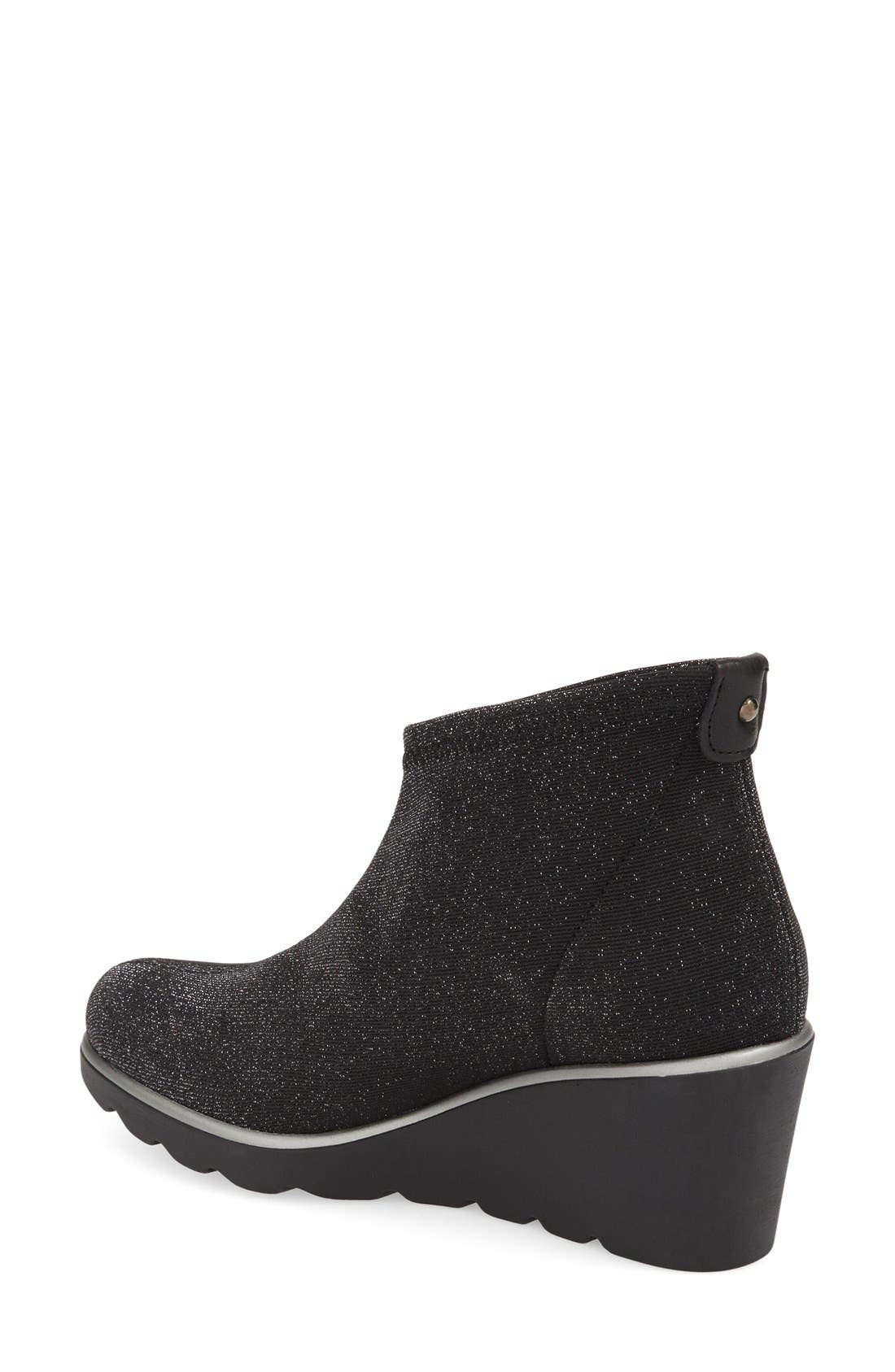 'Baltic' Wedge Bootie,                             Alternate thumbnail 2, color,                             001