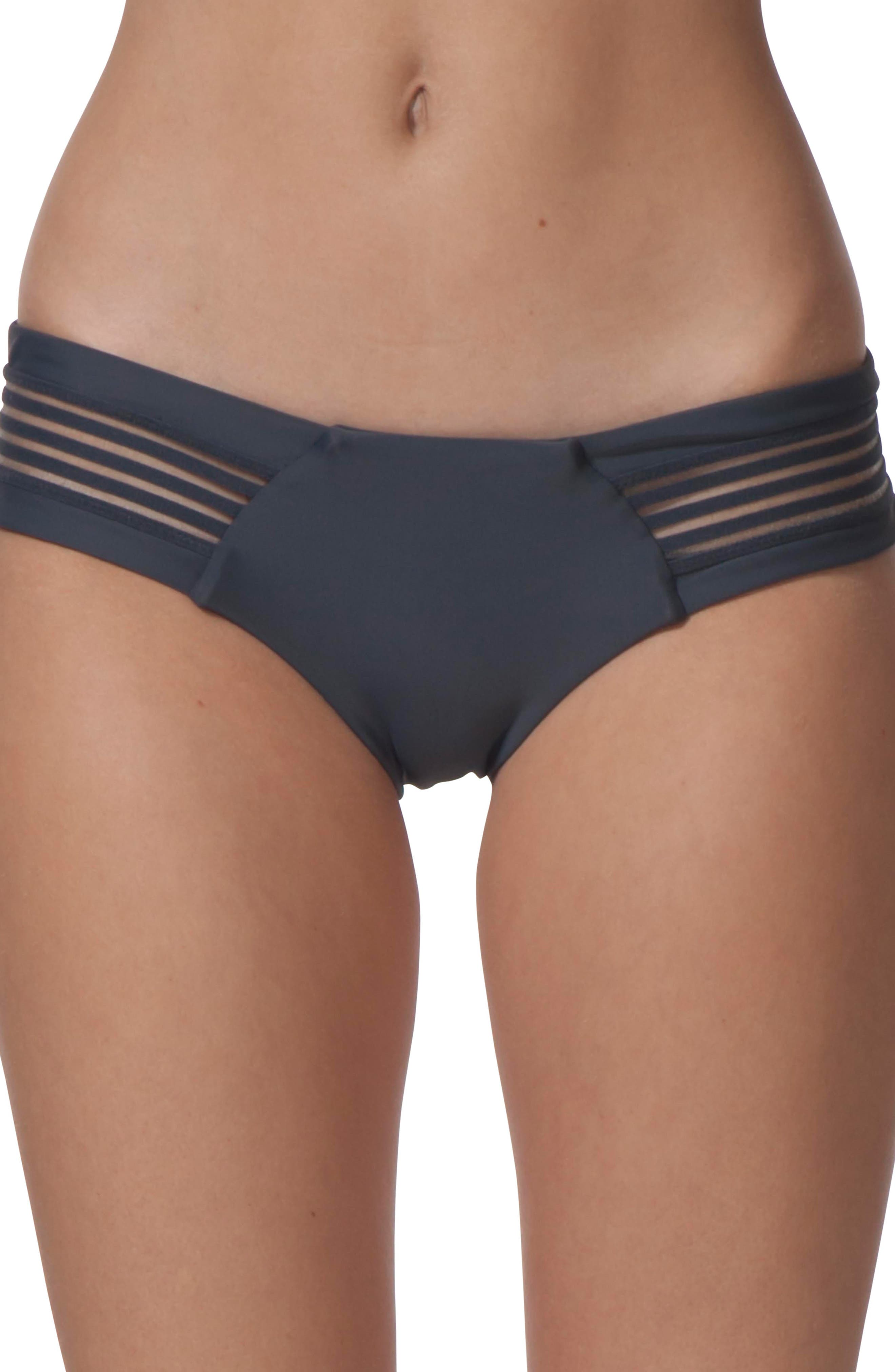 Illusion Hipster Bikini Bottoms,                         Main,                         color,