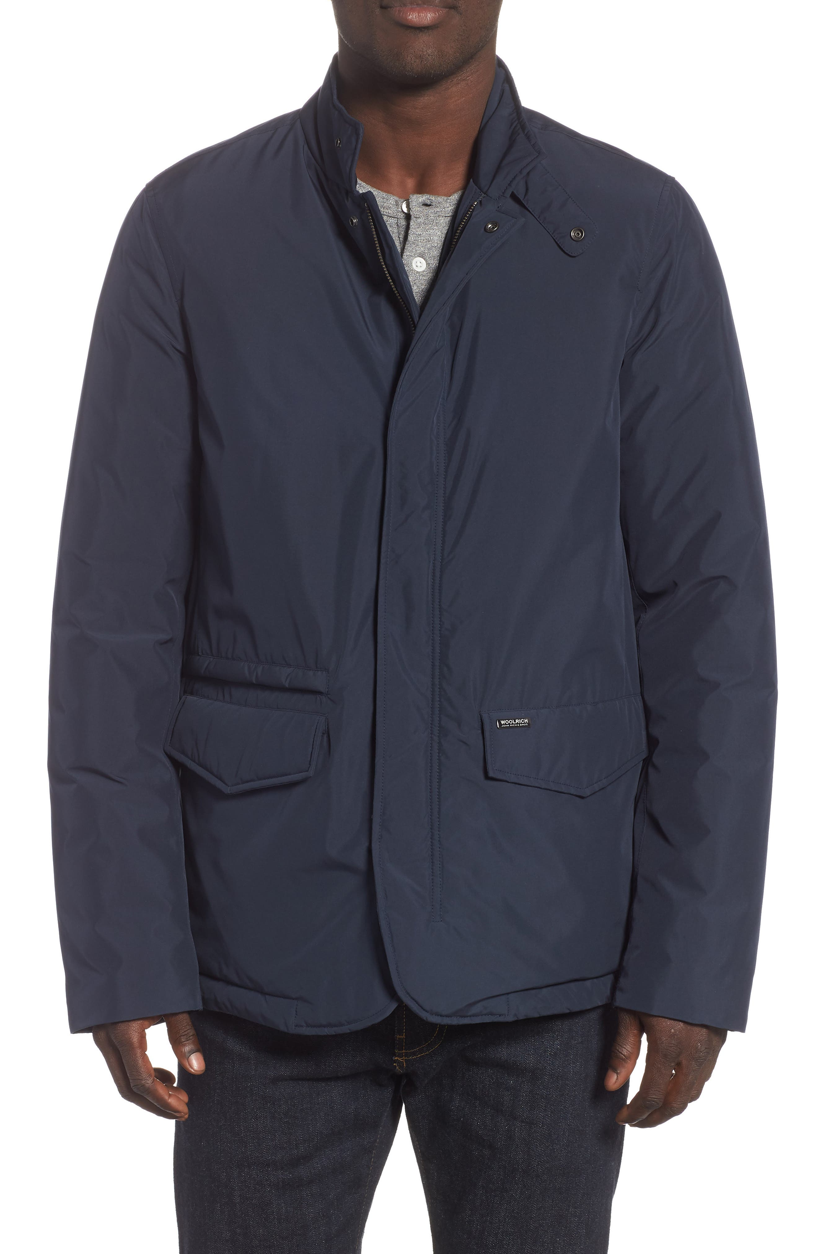 Woolrich City Down Jacket, Blue