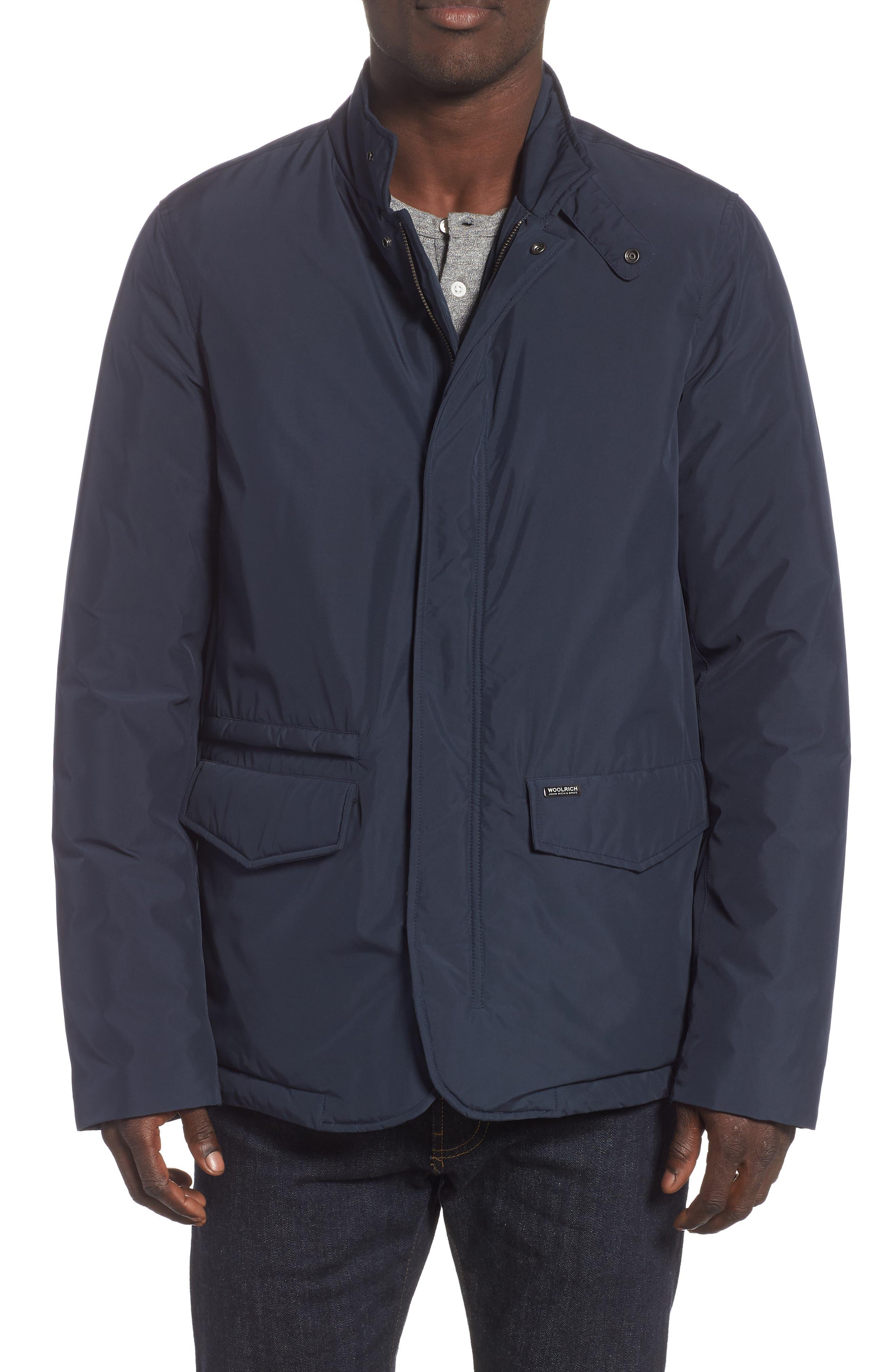 City Down Jacket,                         Main,                         color, MELTON BLUE