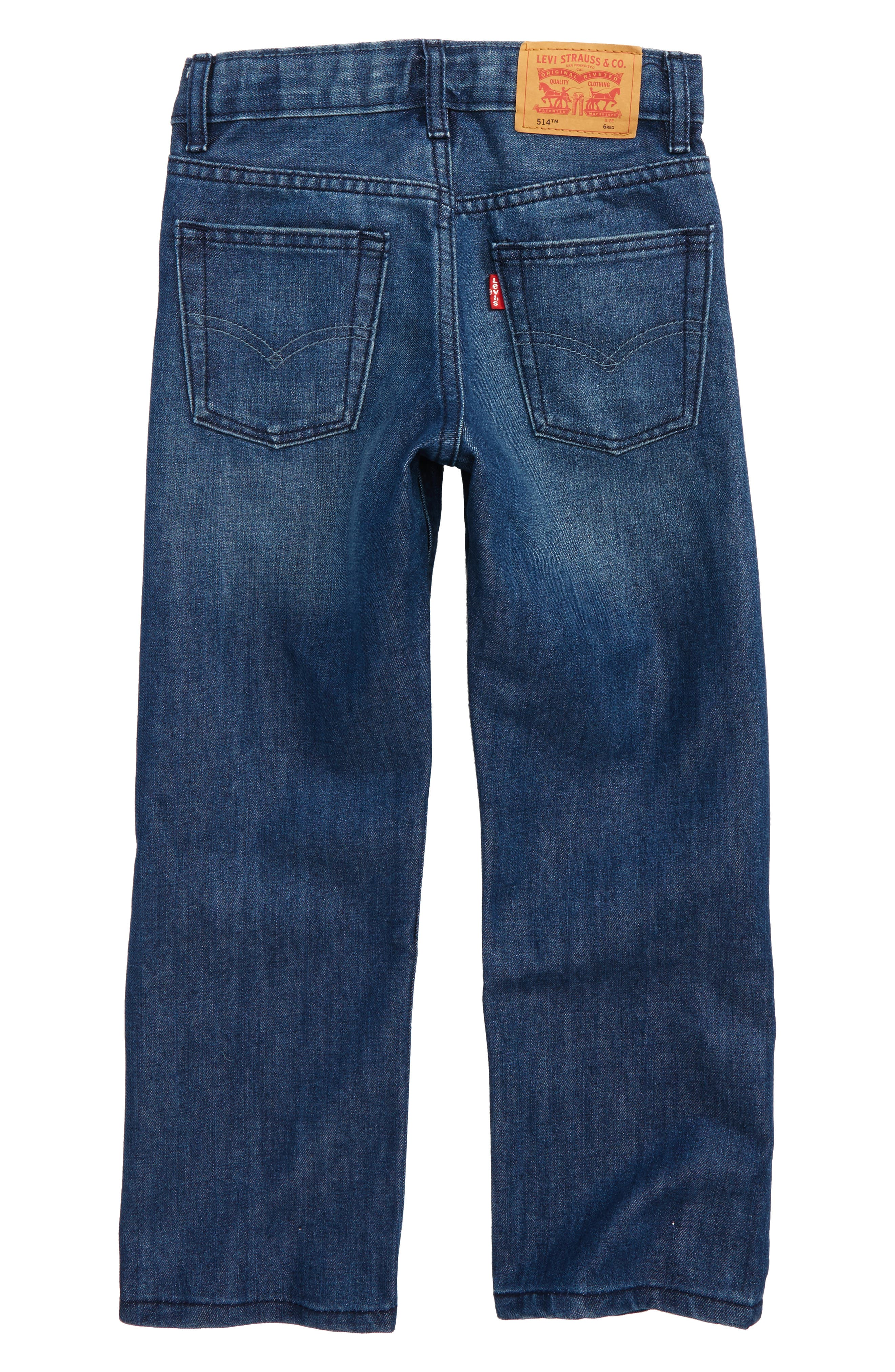 514<sup>™</sup> Straight Leg Jeans,                             Alternate thumbnail 2, color,                             421