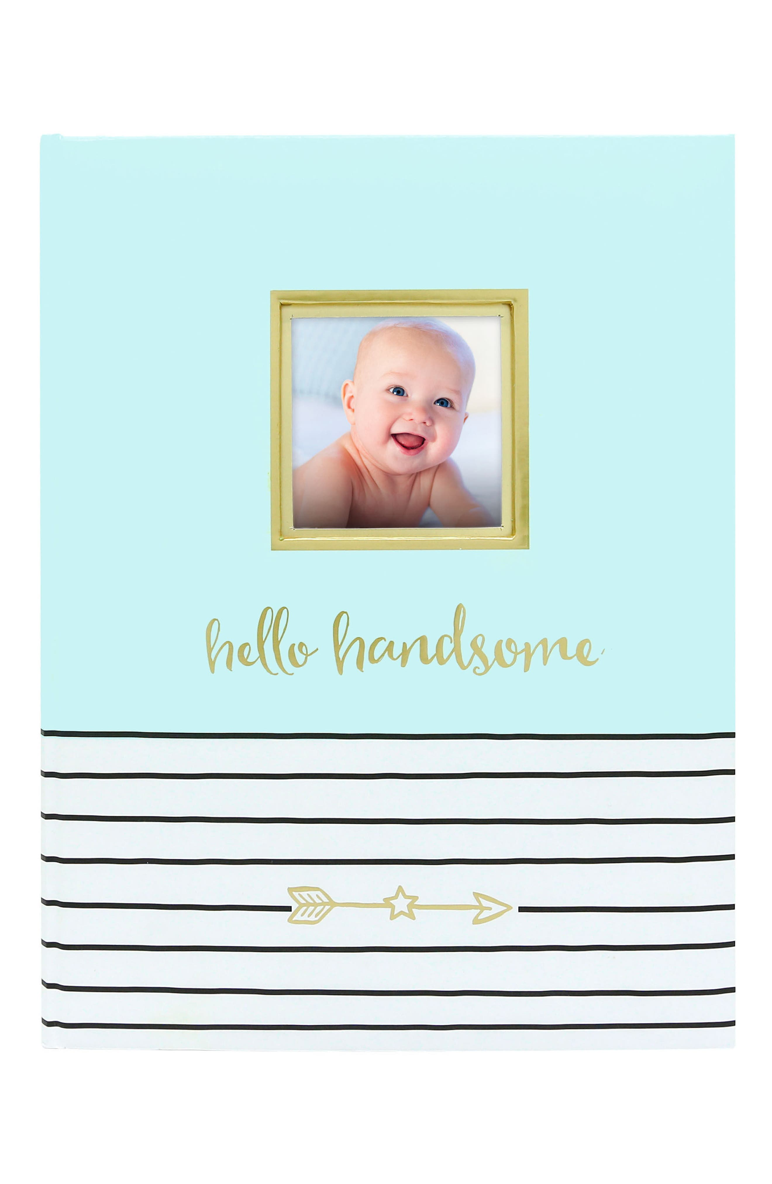 PEARHEAD Hello Baby Book, Main, color, BLUE