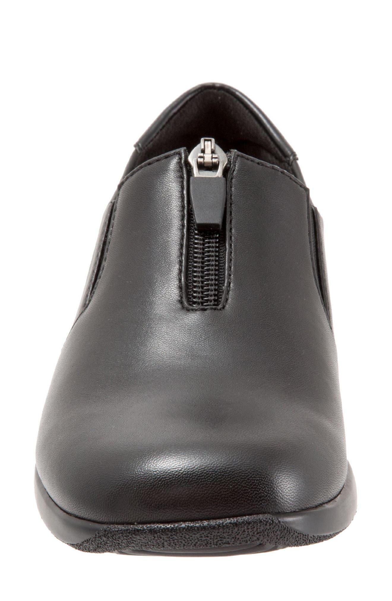 Jacey Slip-On Sneaker,                             Alternate thumbnail 4, color,                             001