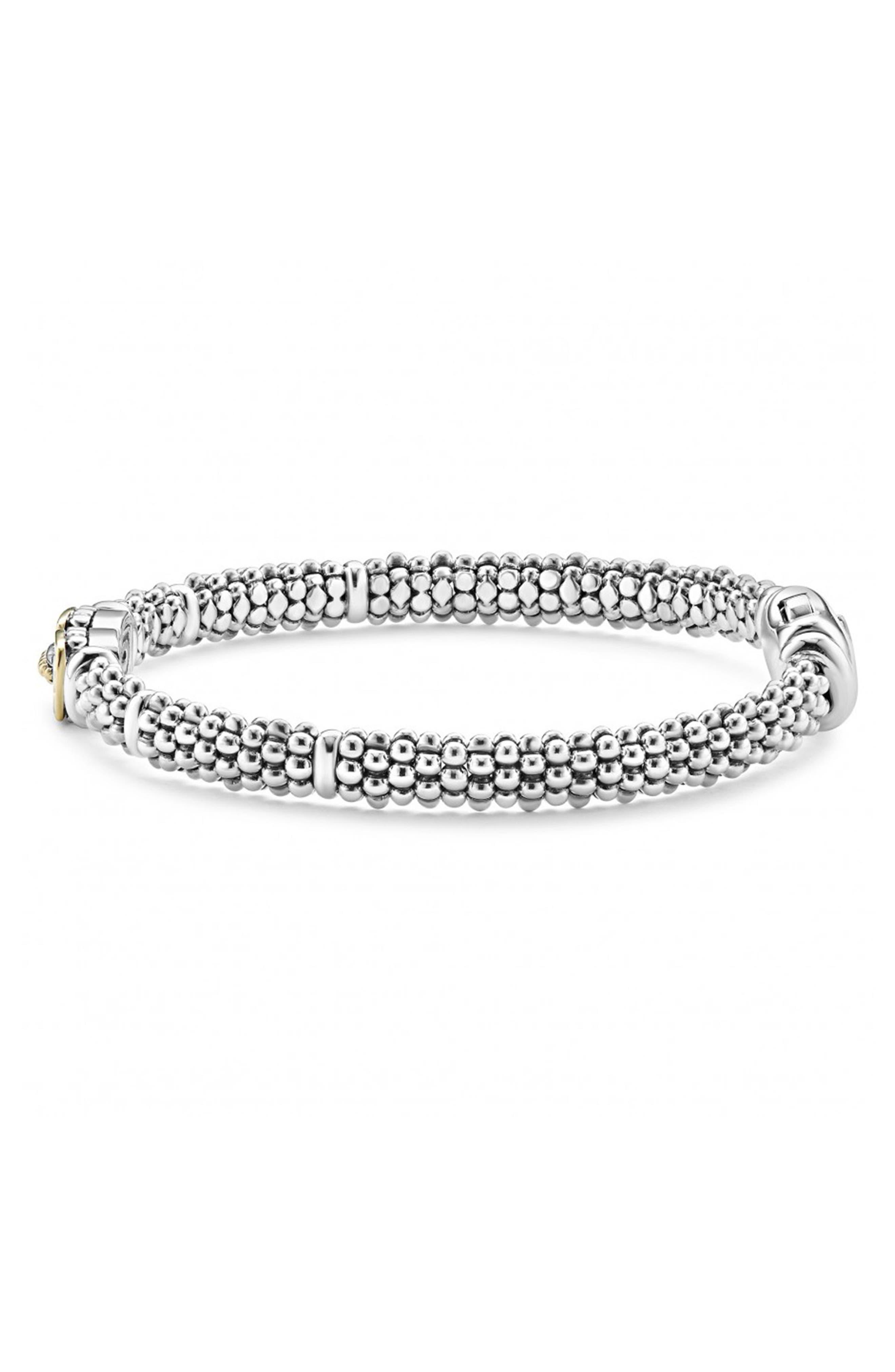 Diamond Caviar Bracelet,                             Alternate thumbnail 5, color,                             040