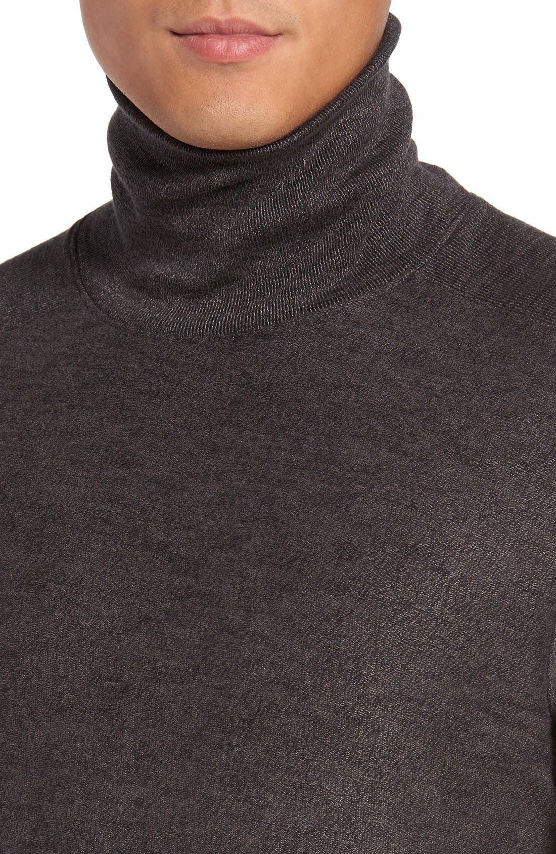 Turtleneck Sweater,                             Alternate thumbnail 4, color,                             034