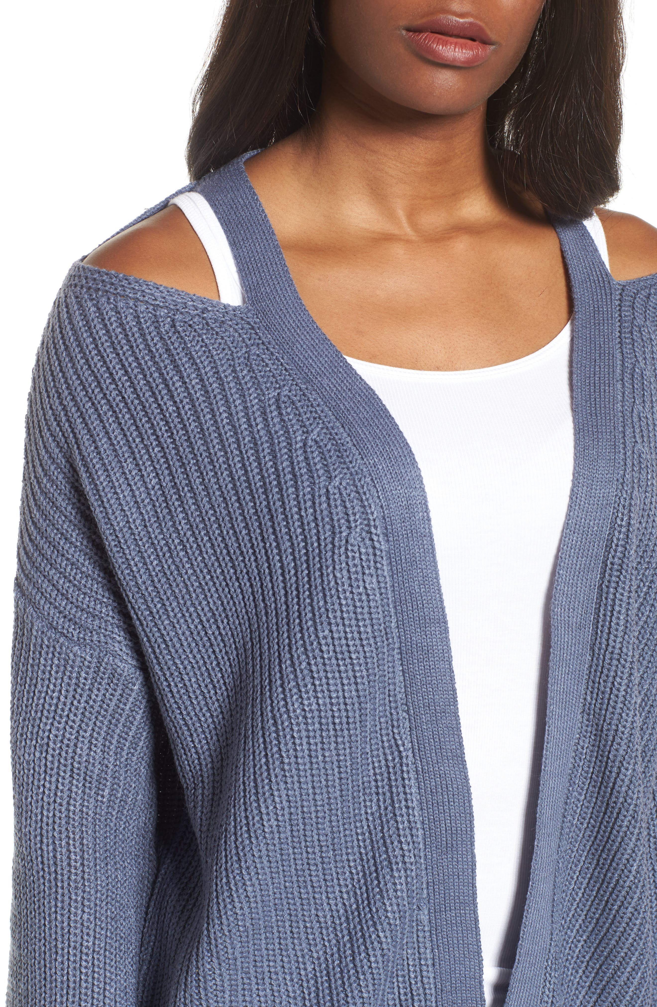 Cutout Cardigan,                             Alternate thumbnail 11, color,