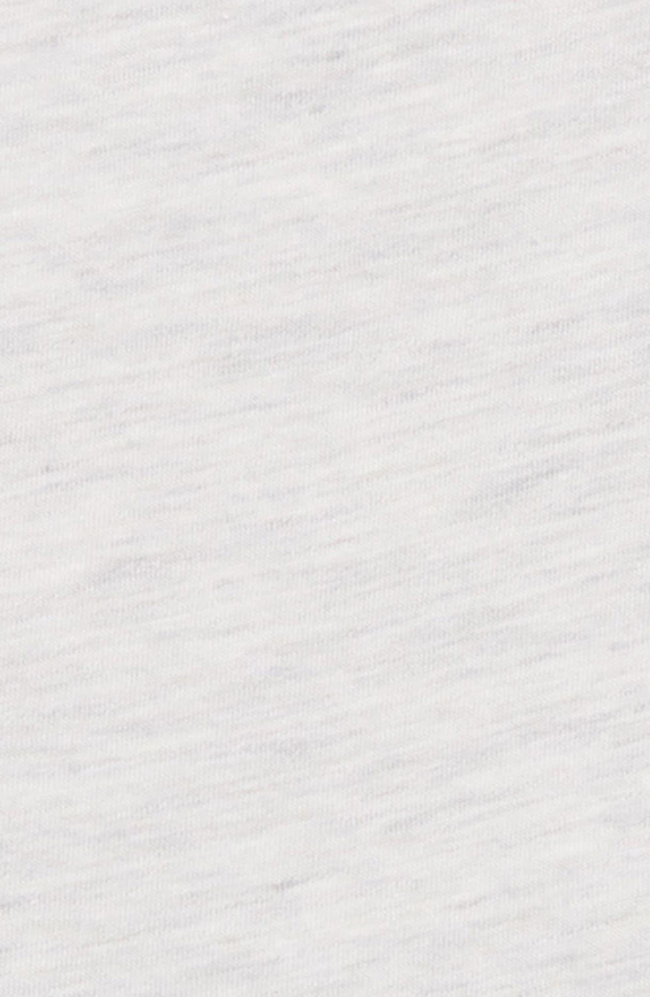 Tie Sleeve Peplum Tee,                             Alternate thumbnail 3, color,