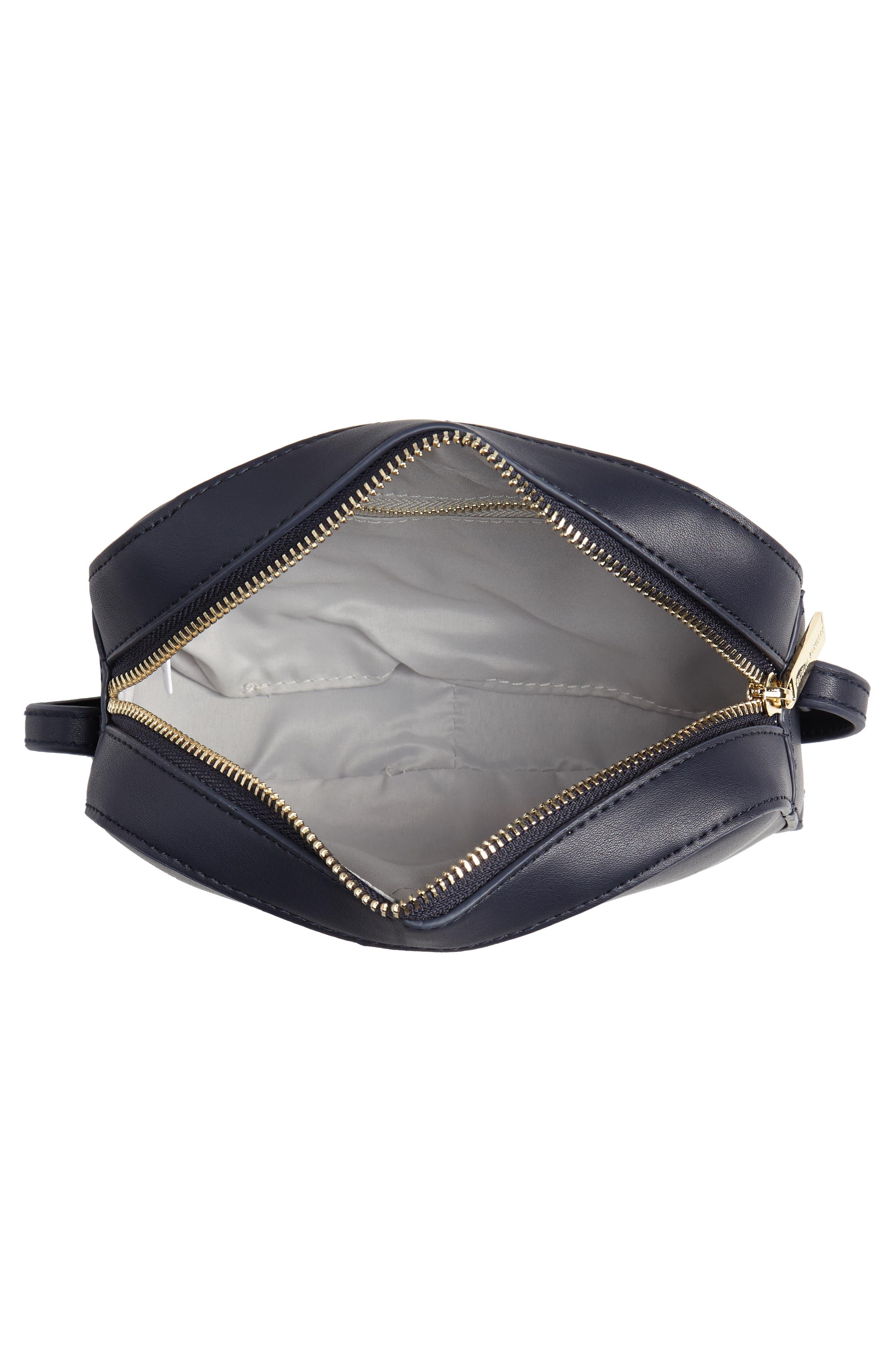 Faux Leather Box Bag,                             Alternate thumbnail 4, color,                             410