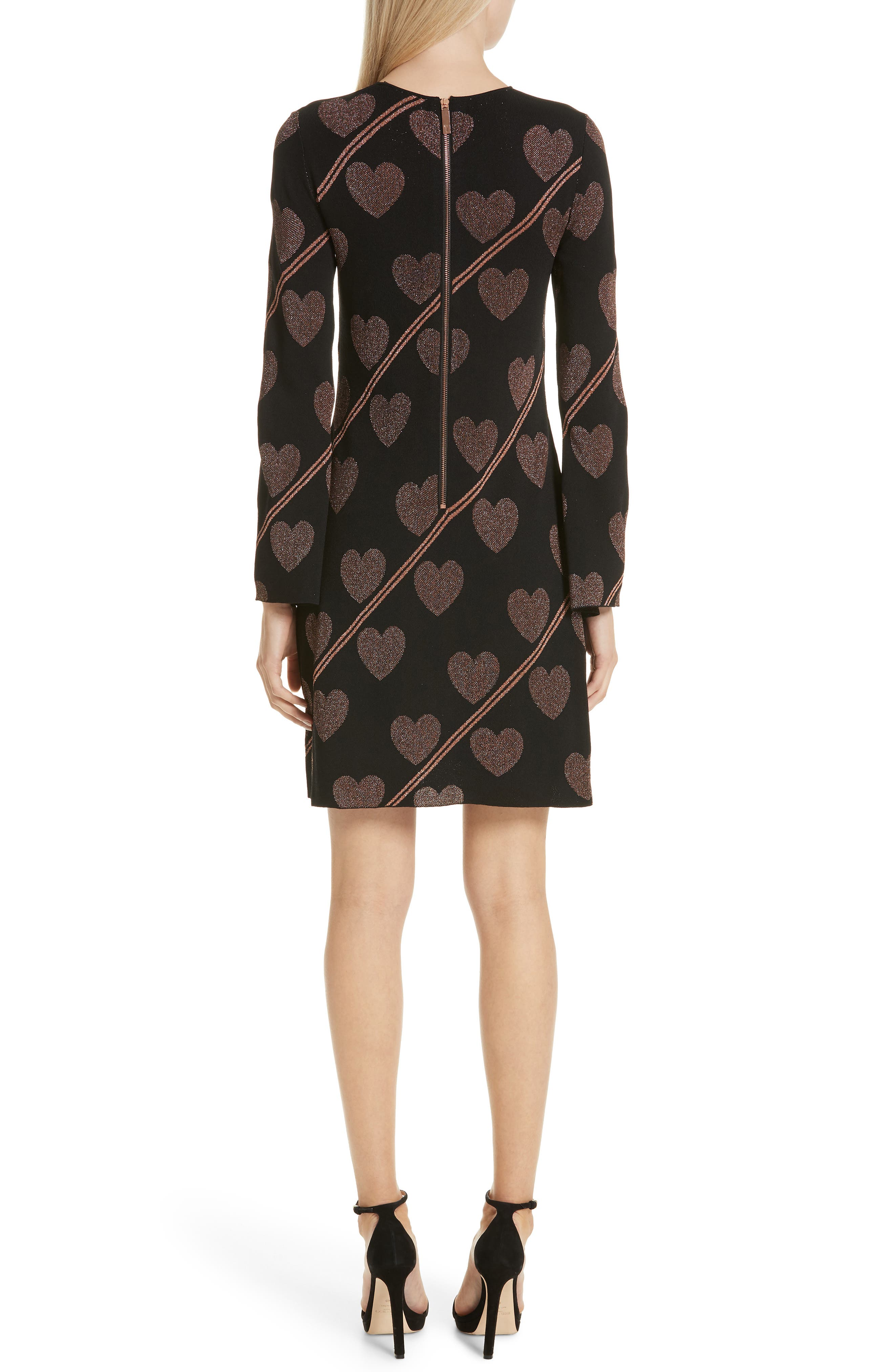 Uzeniaa Joyous Sweater Dress,                             Alternate thumbnail 2, color,                             BLACK